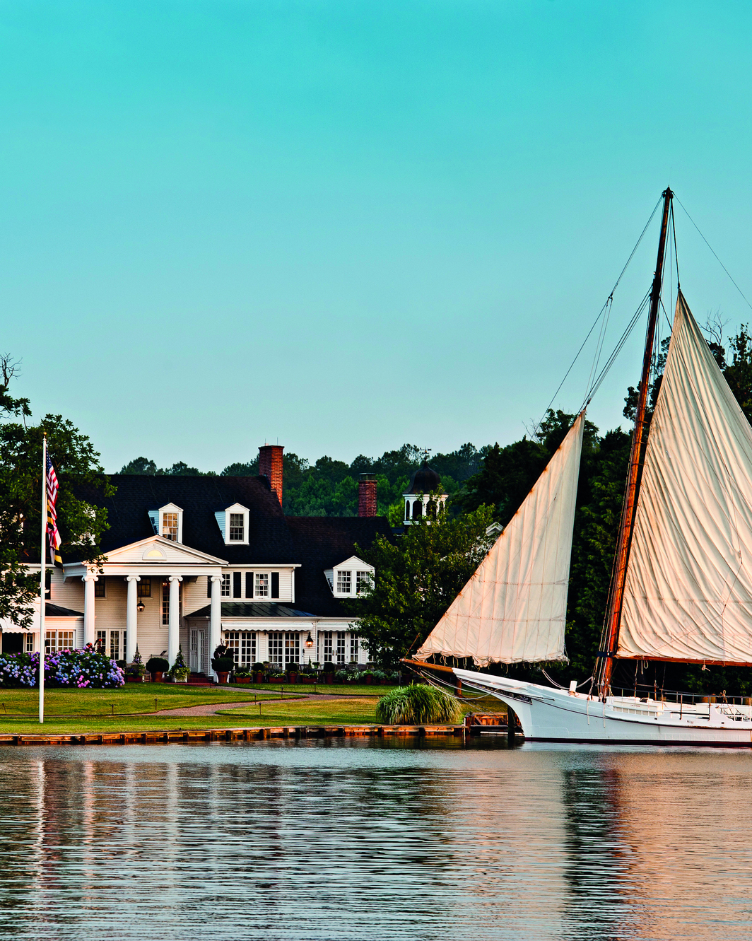 Inn at Perry Cabin, Chesapeake Bay, Maryland