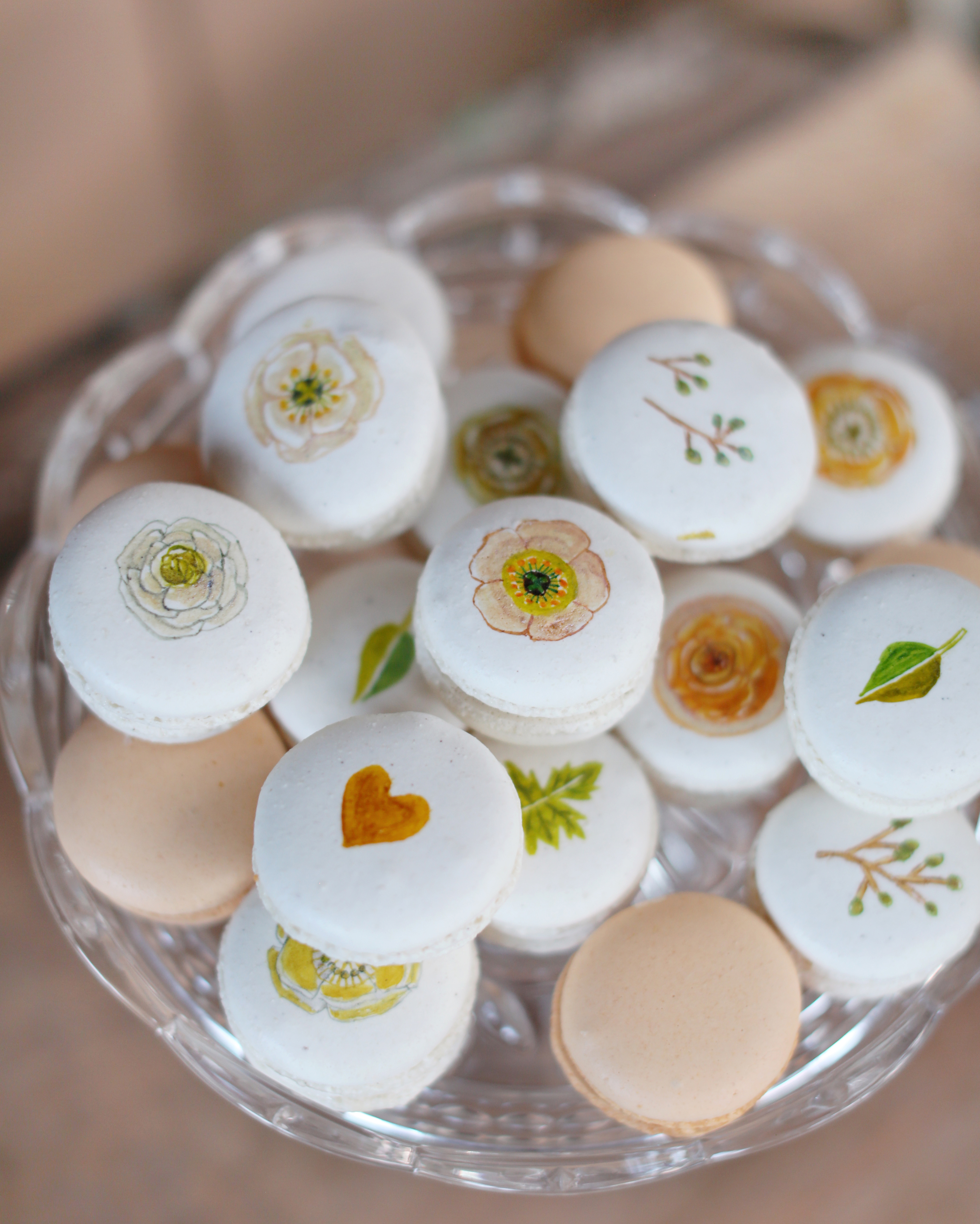 Hand-Decorated Macarons