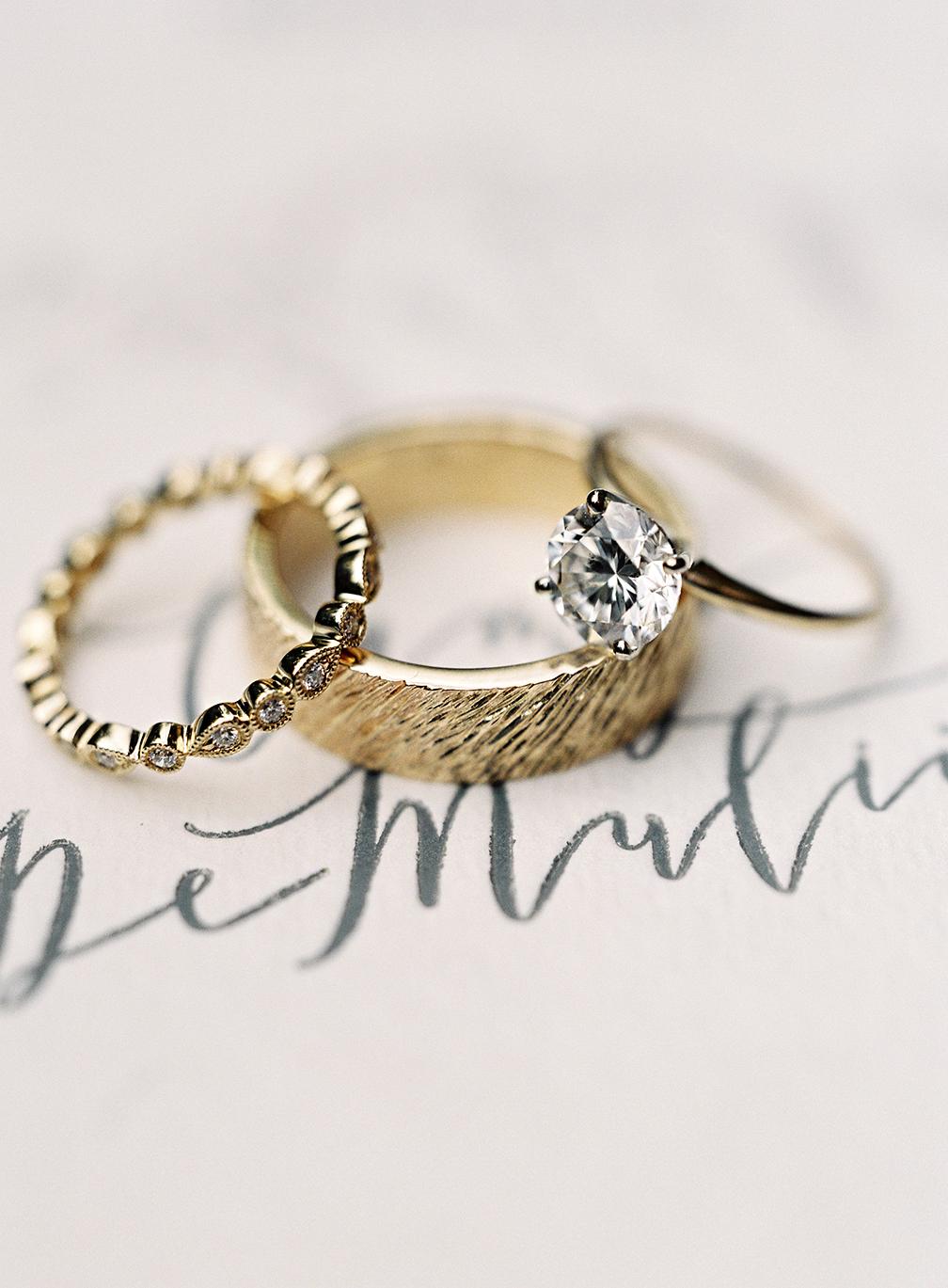 ashley and justin wedding rings