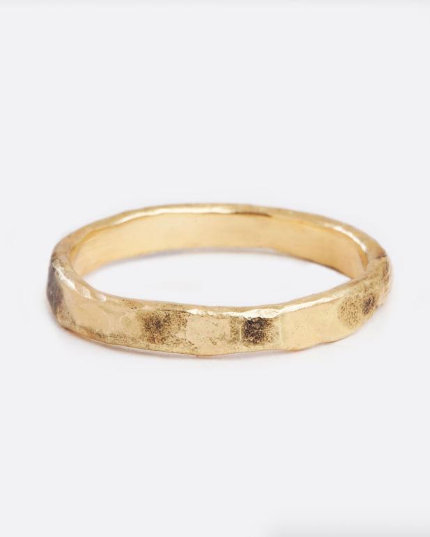 Blair Lauren Brown Heat-Treated Ring
