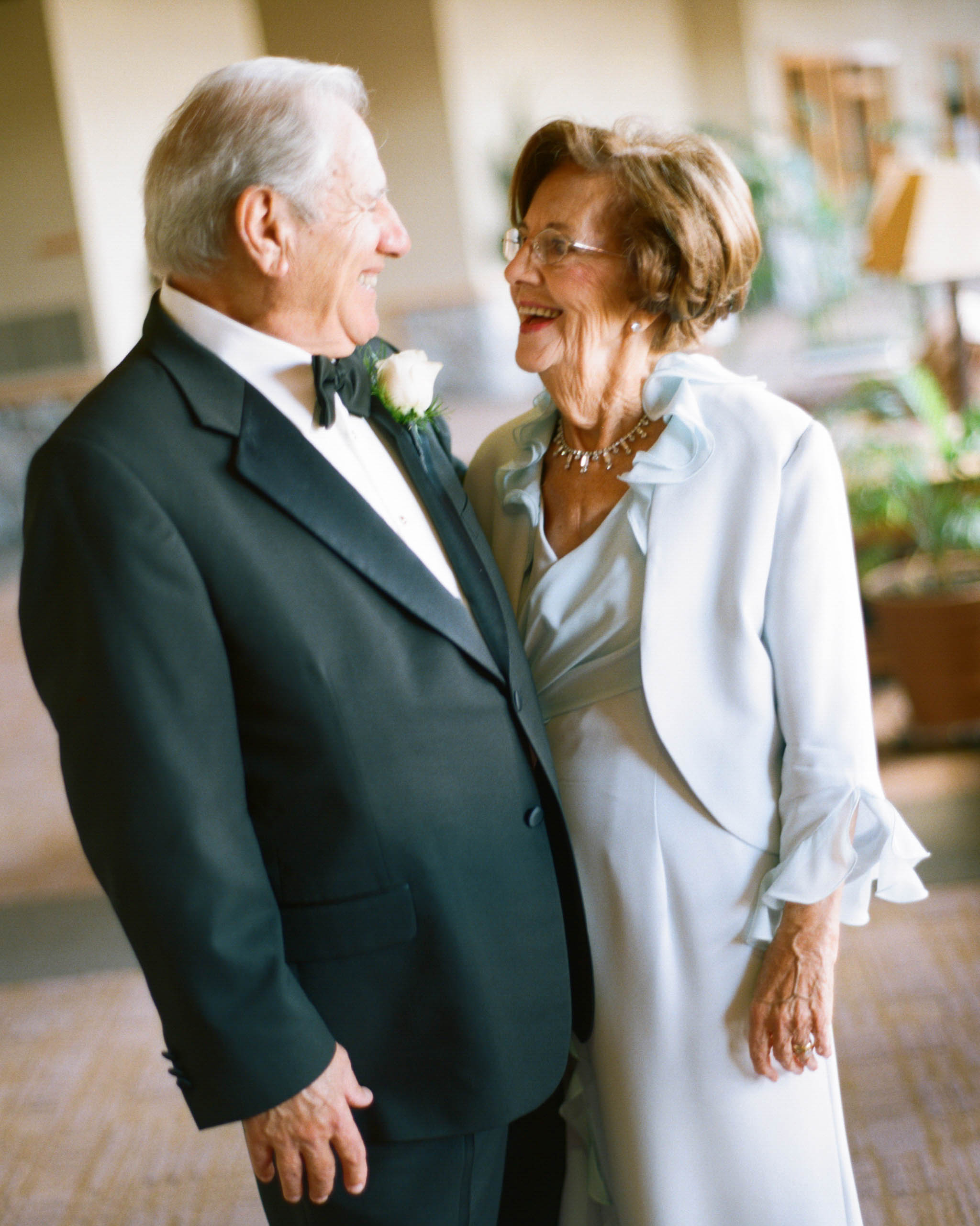 My parents and my aunt and uncle are celebrating their anniversaries near our wedding day, and we'd like to honor them. Suggestions?