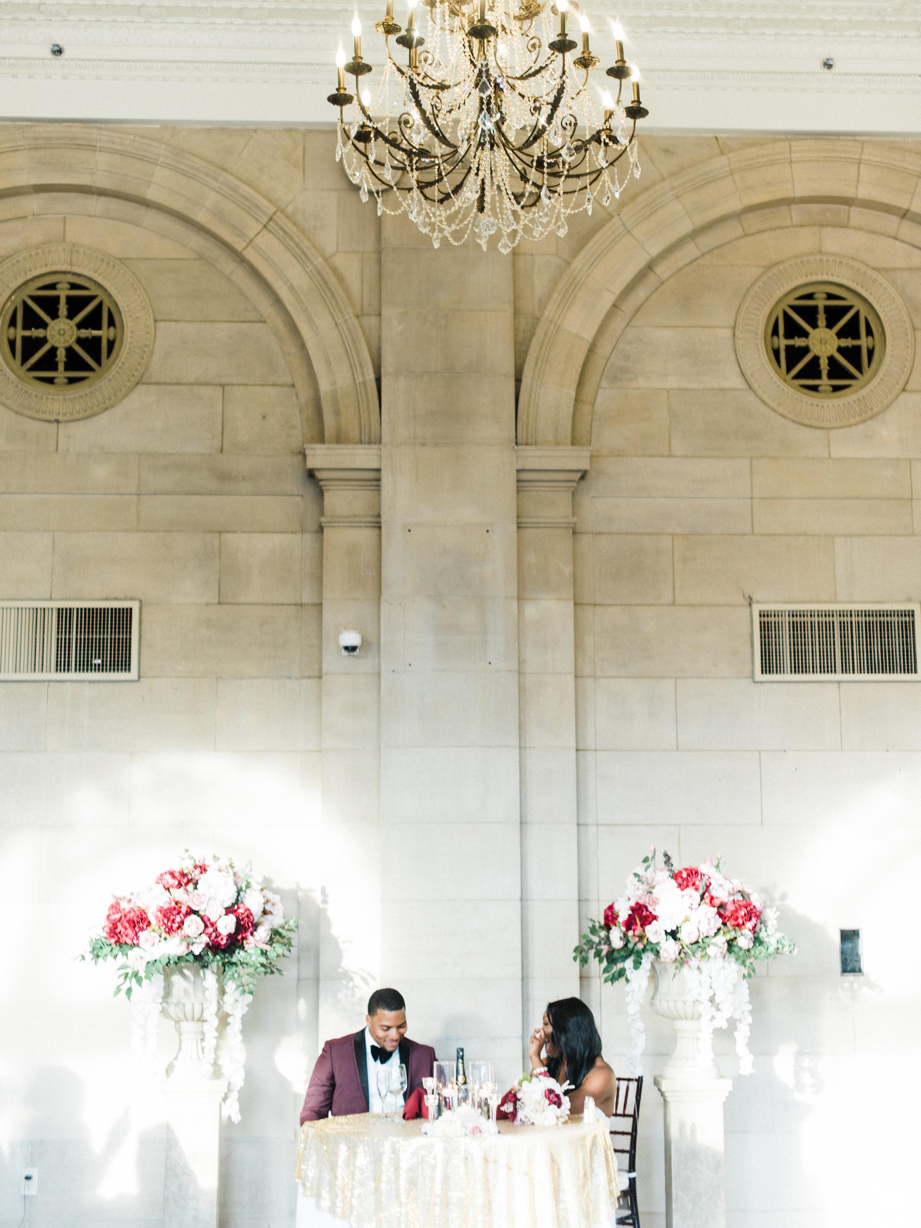 shanice & stephen wedding reception