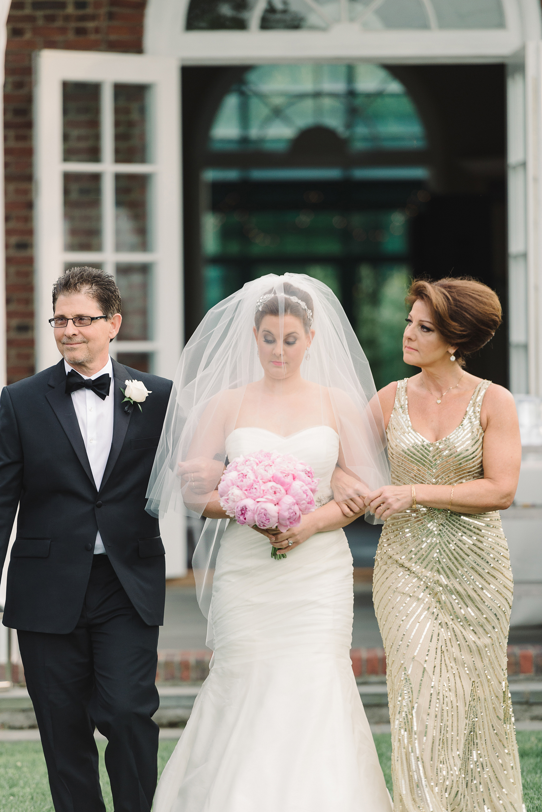Mother of the Bride Dramatic Bun Hairstyle