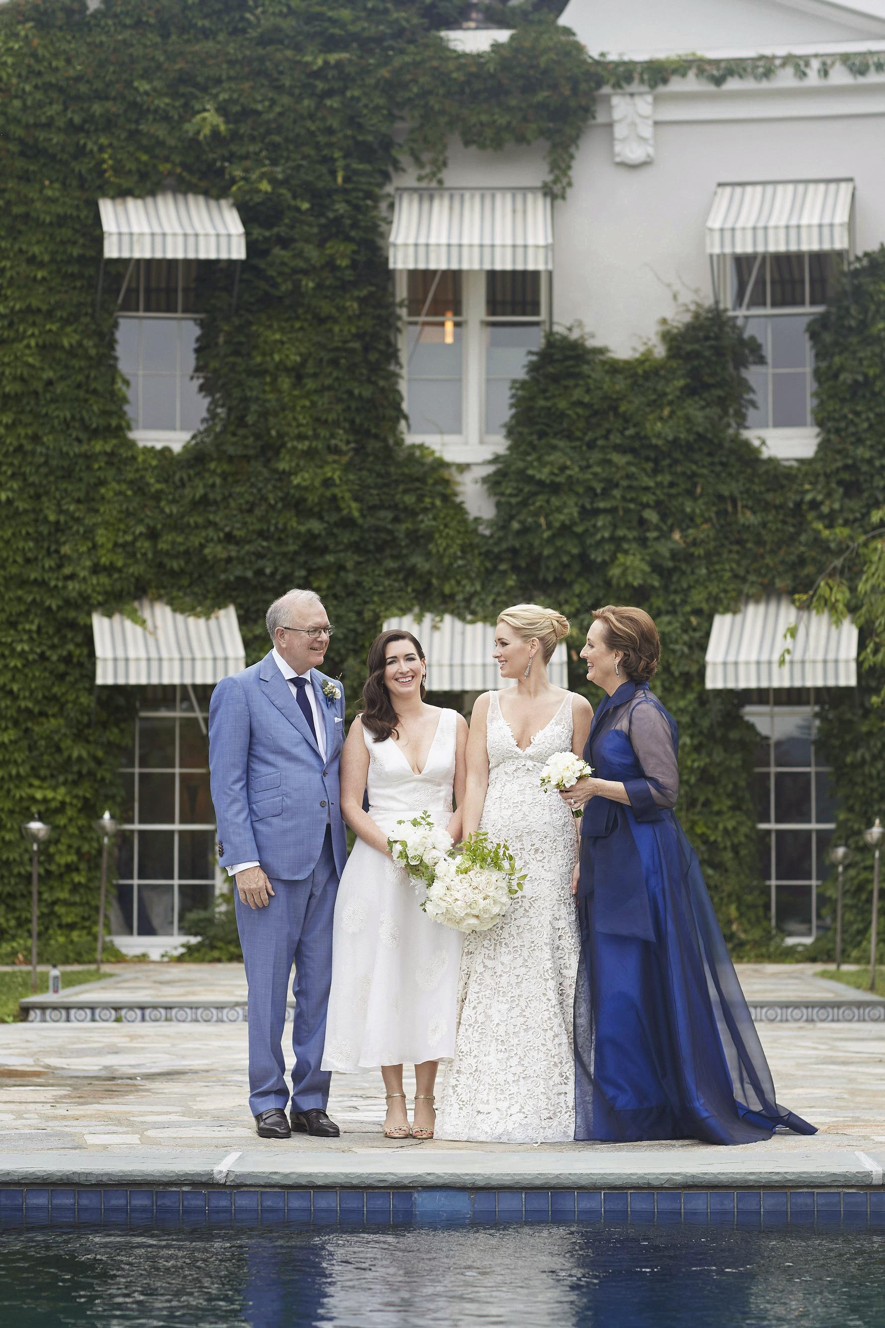 joyann jeremy wedding bride's family