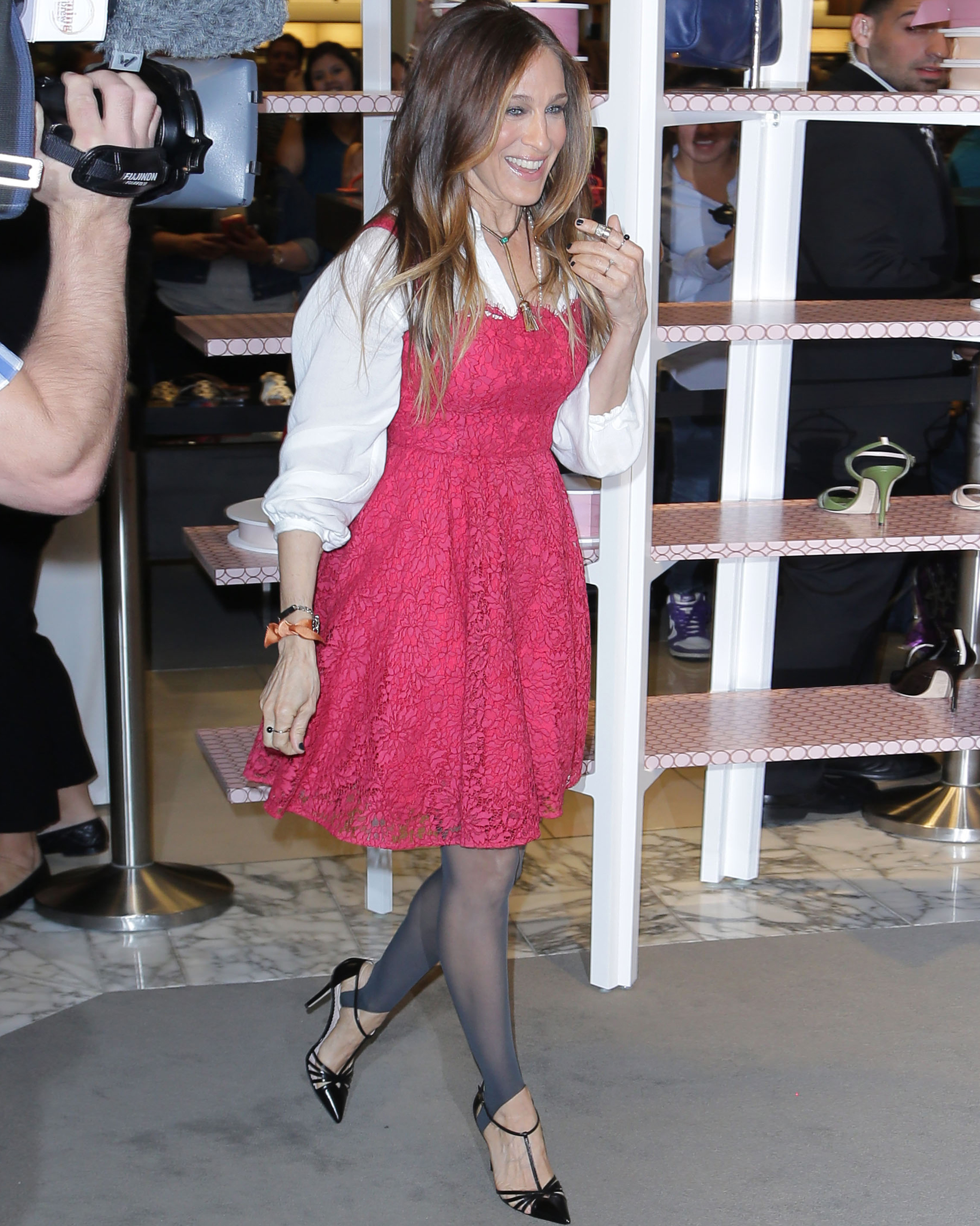 SJP Shoe Line Launch at Nordstrom