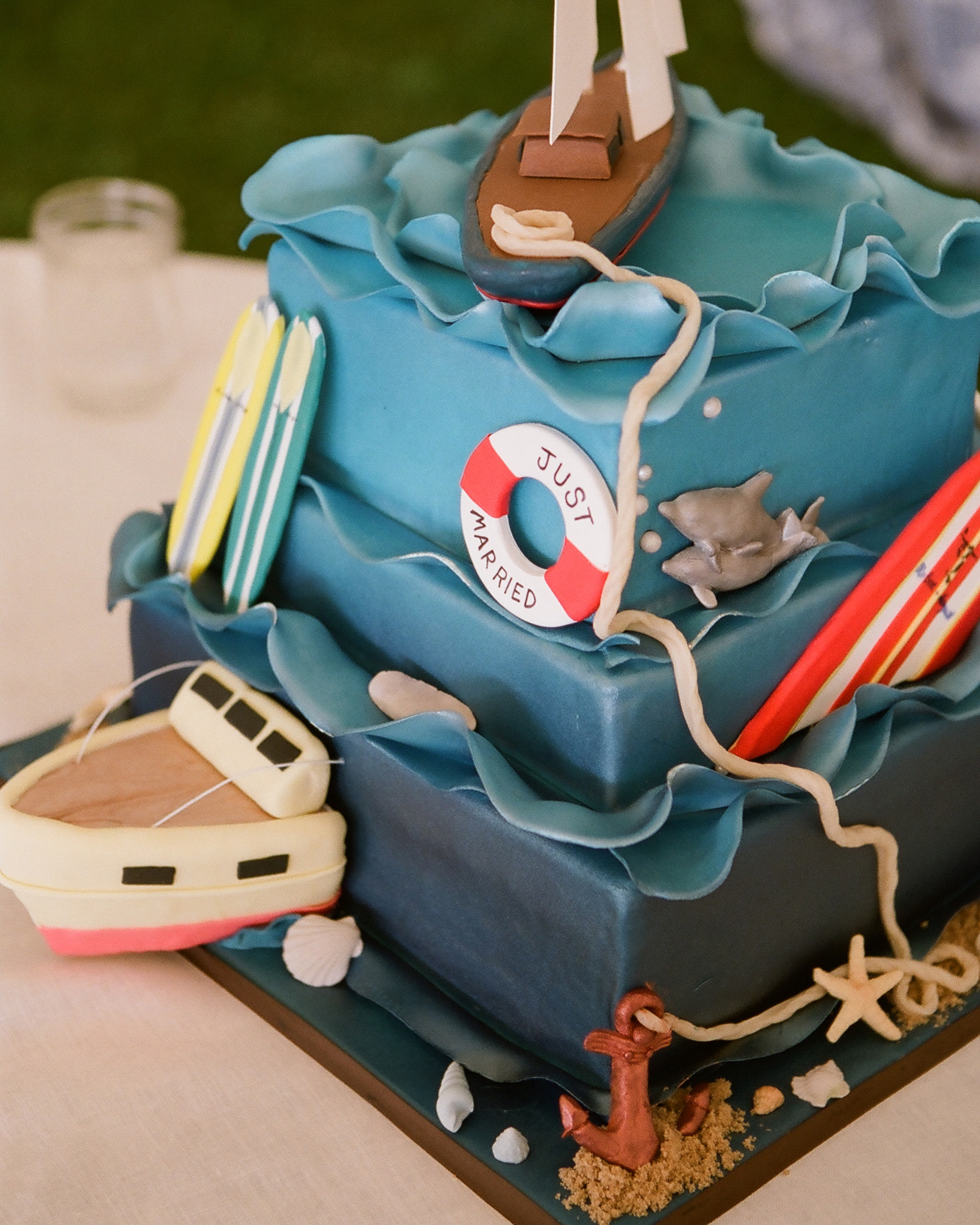 Nautical Groom's Cake