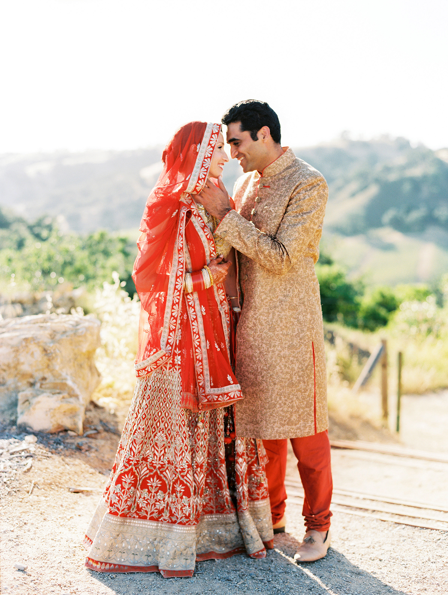 An Elegant Two Day Wedding In California With Both An Indian And A