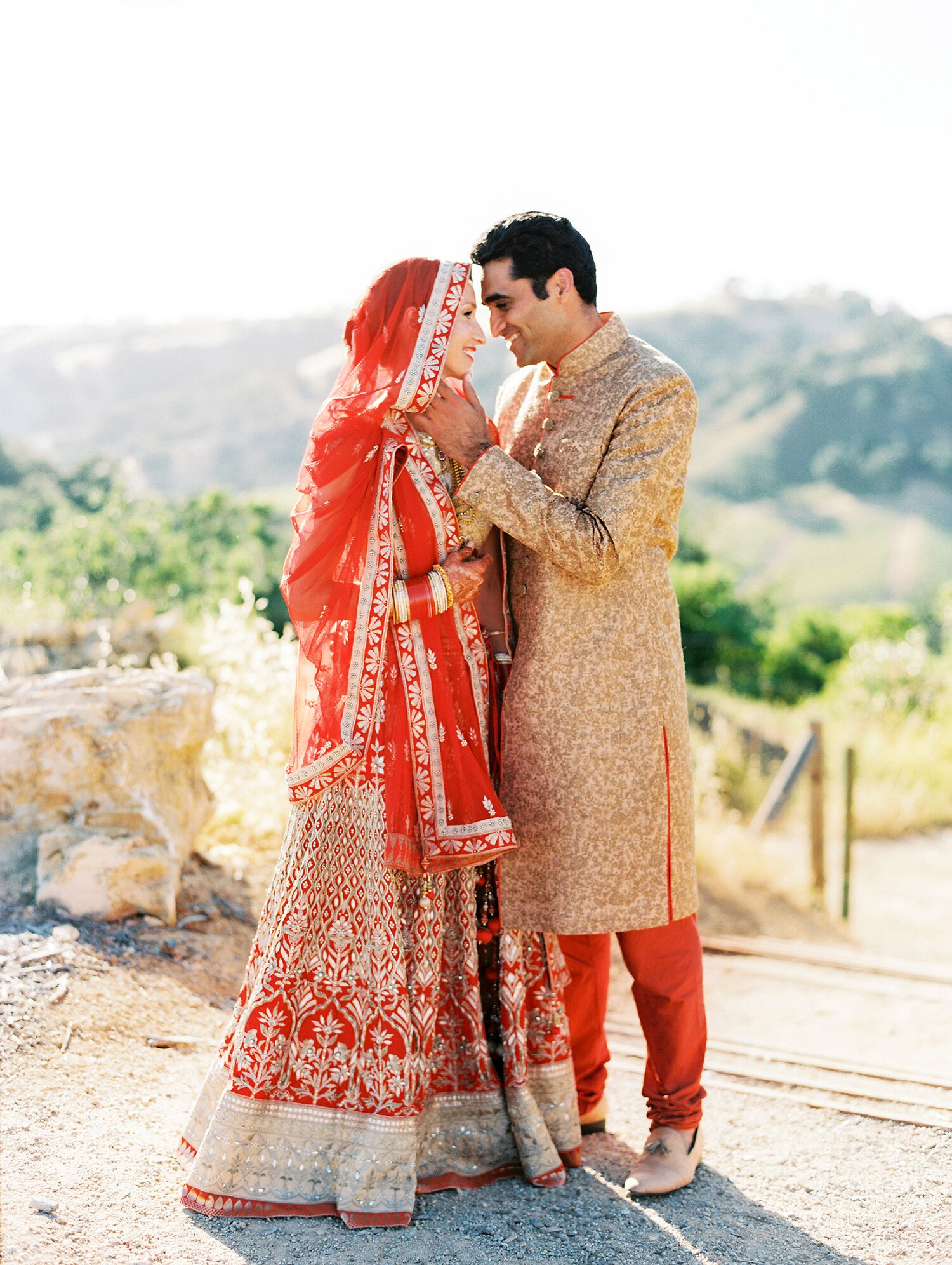 An Elegant Two Day Wedding In California With Both An Indian