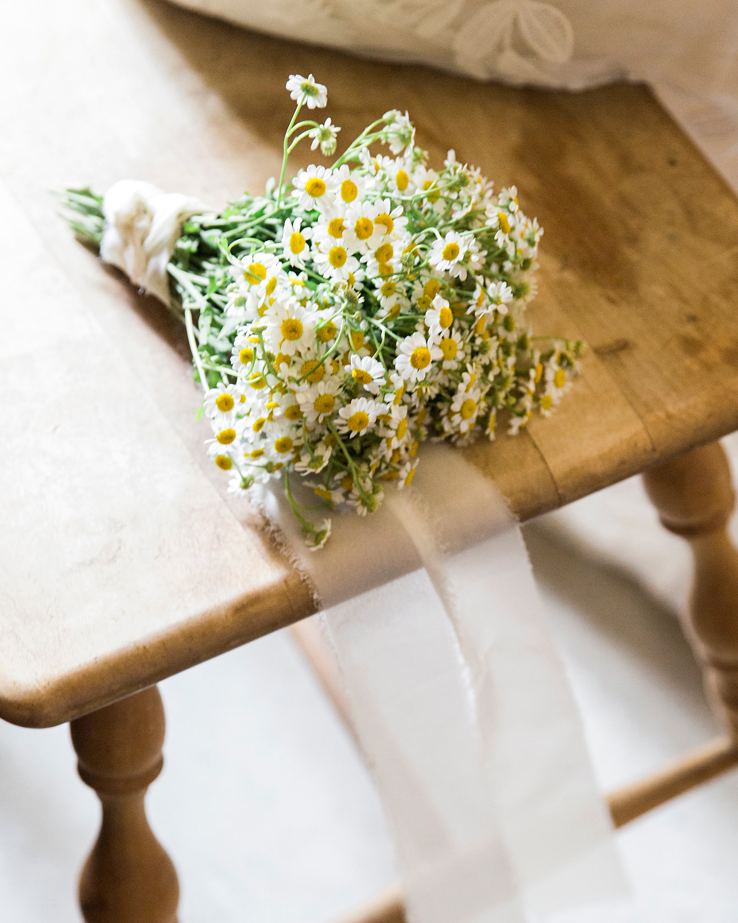Chamomile Wedding Bouquet