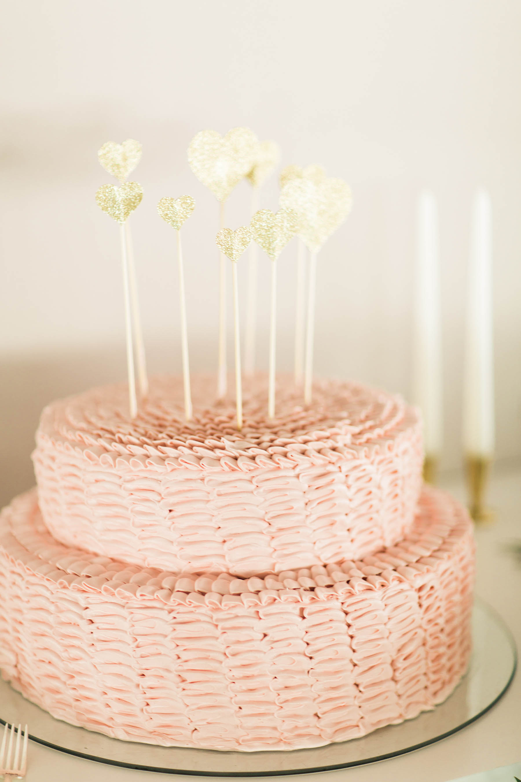 Woven Small Wedding Cake