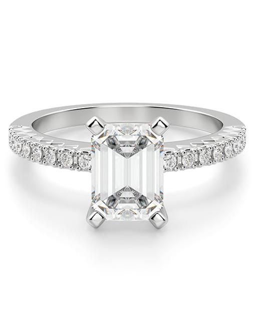 """Diamond Nexus """"Angelix"""" Ring"""