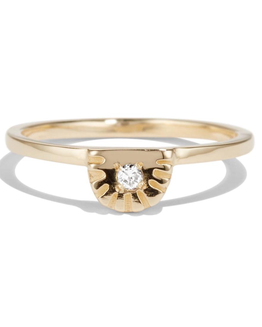 Bario Neal Ray Fringe Ring