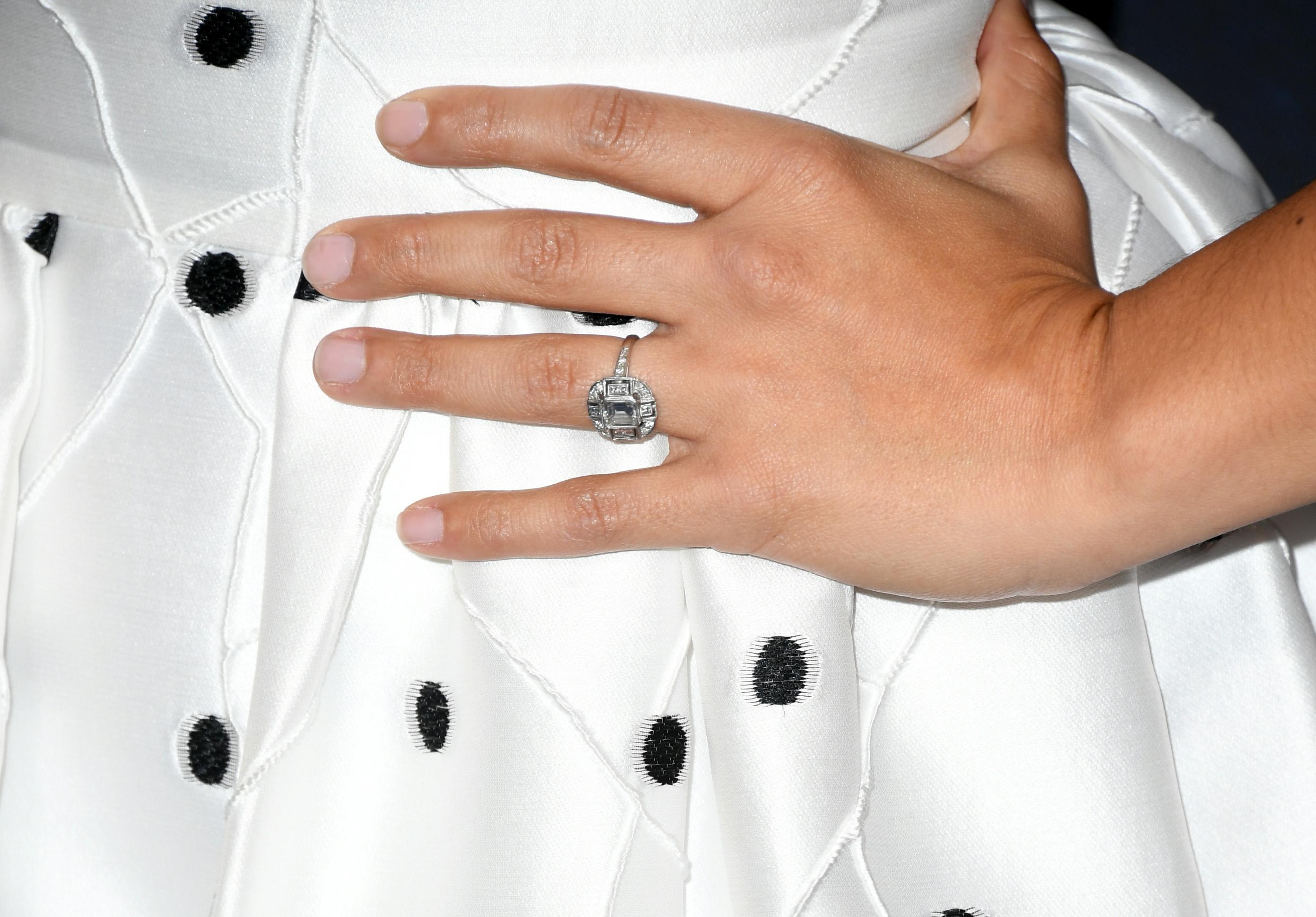 Gina Rodriguez Engagement Ring