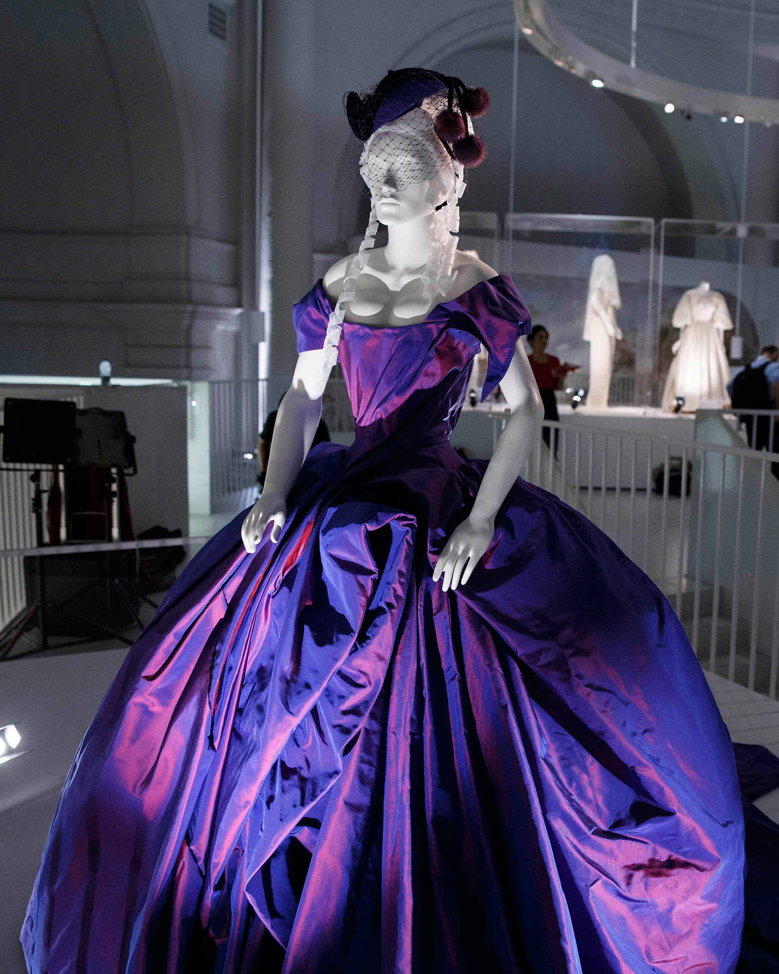 celebrity-colorful-wedding-dresses-dita-von-teese-purple-gettyimages-487437453-0815.jpg