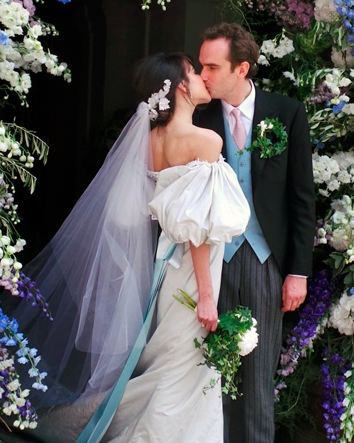 celebrity-colorful-wedding-dresses-caroline-sieber-gray-0815.jpg