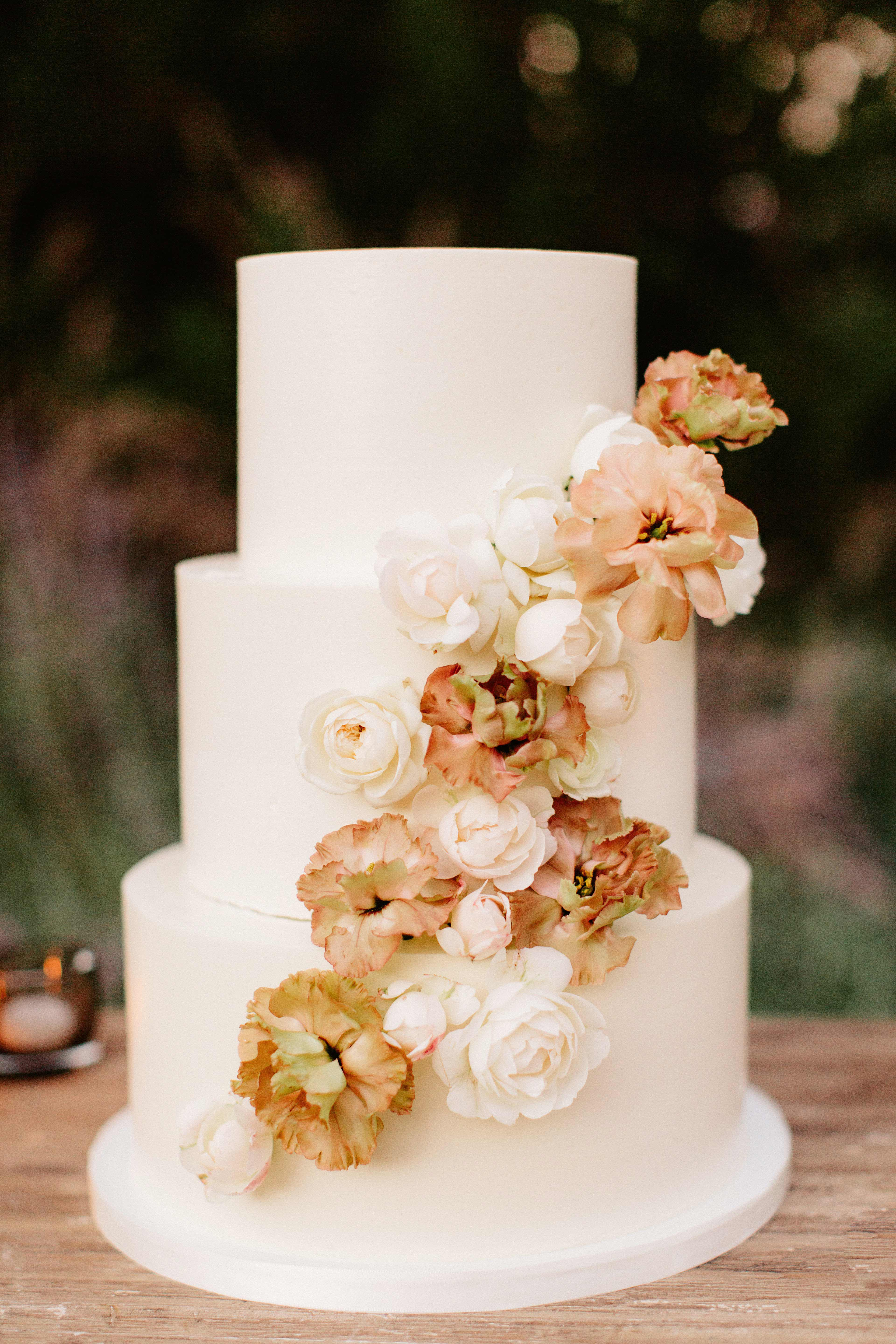 fall wedding cakes lauren scotti