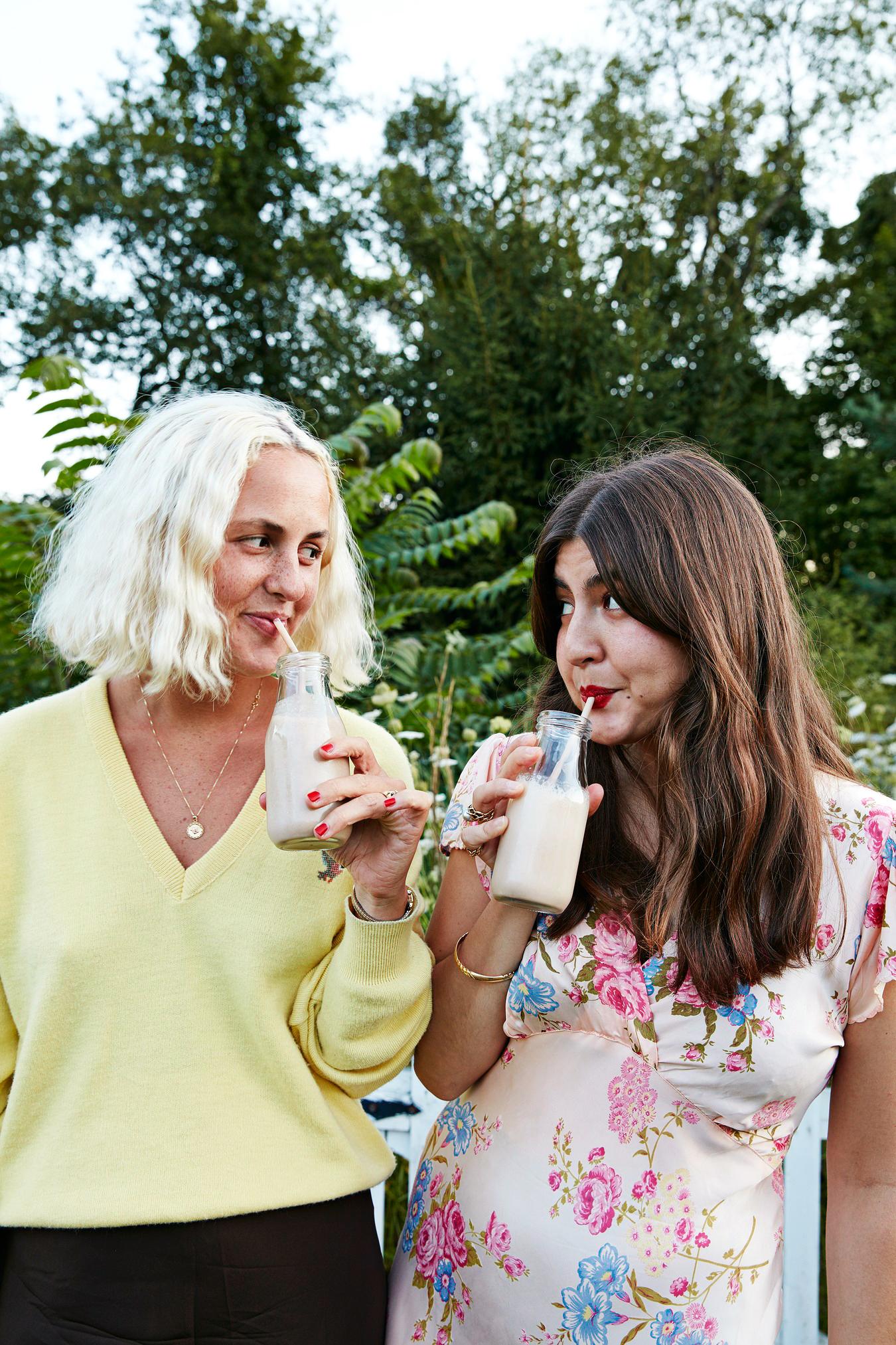 avril quy wedding new york milkshakes guests women