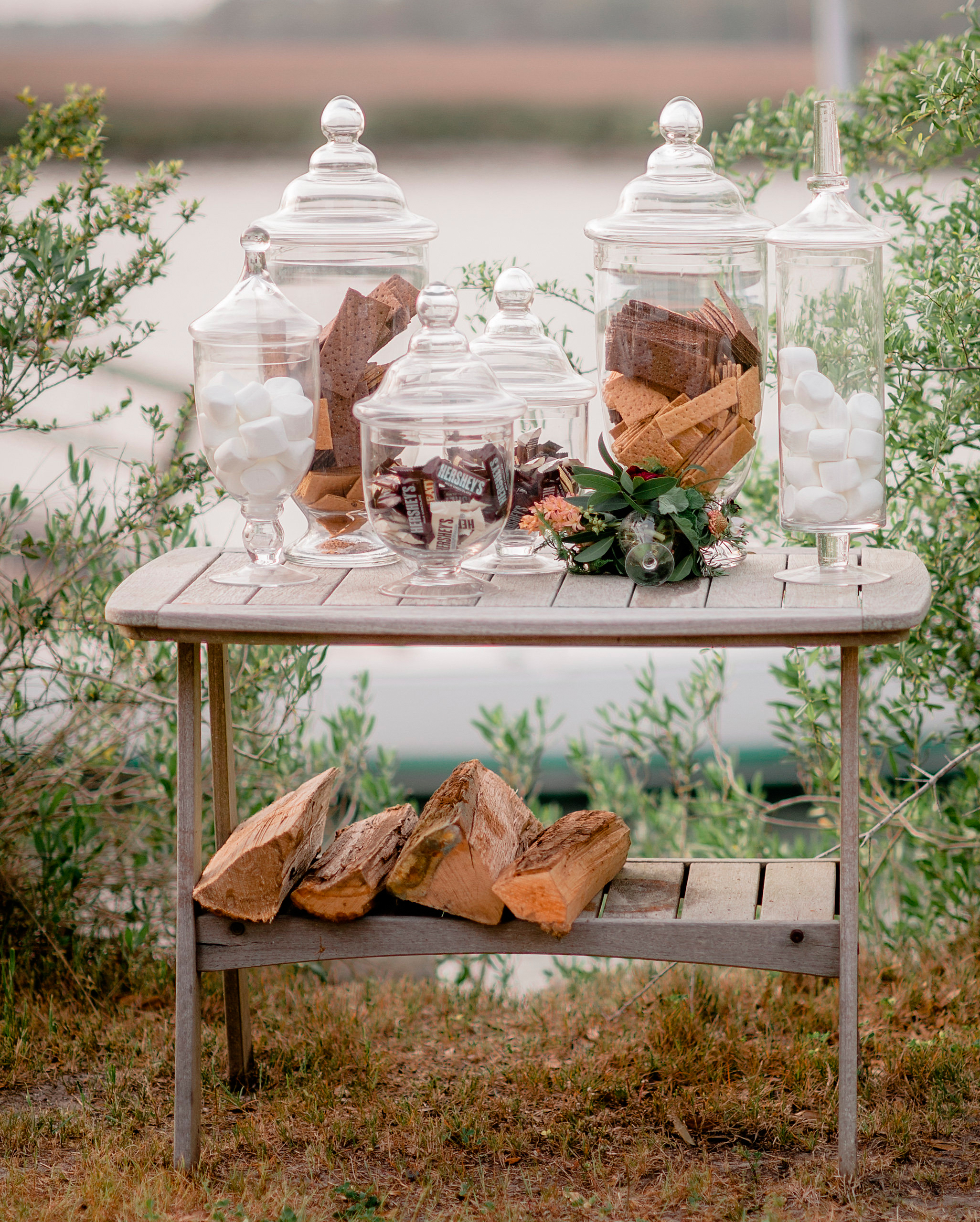 S'mores Dessert Table