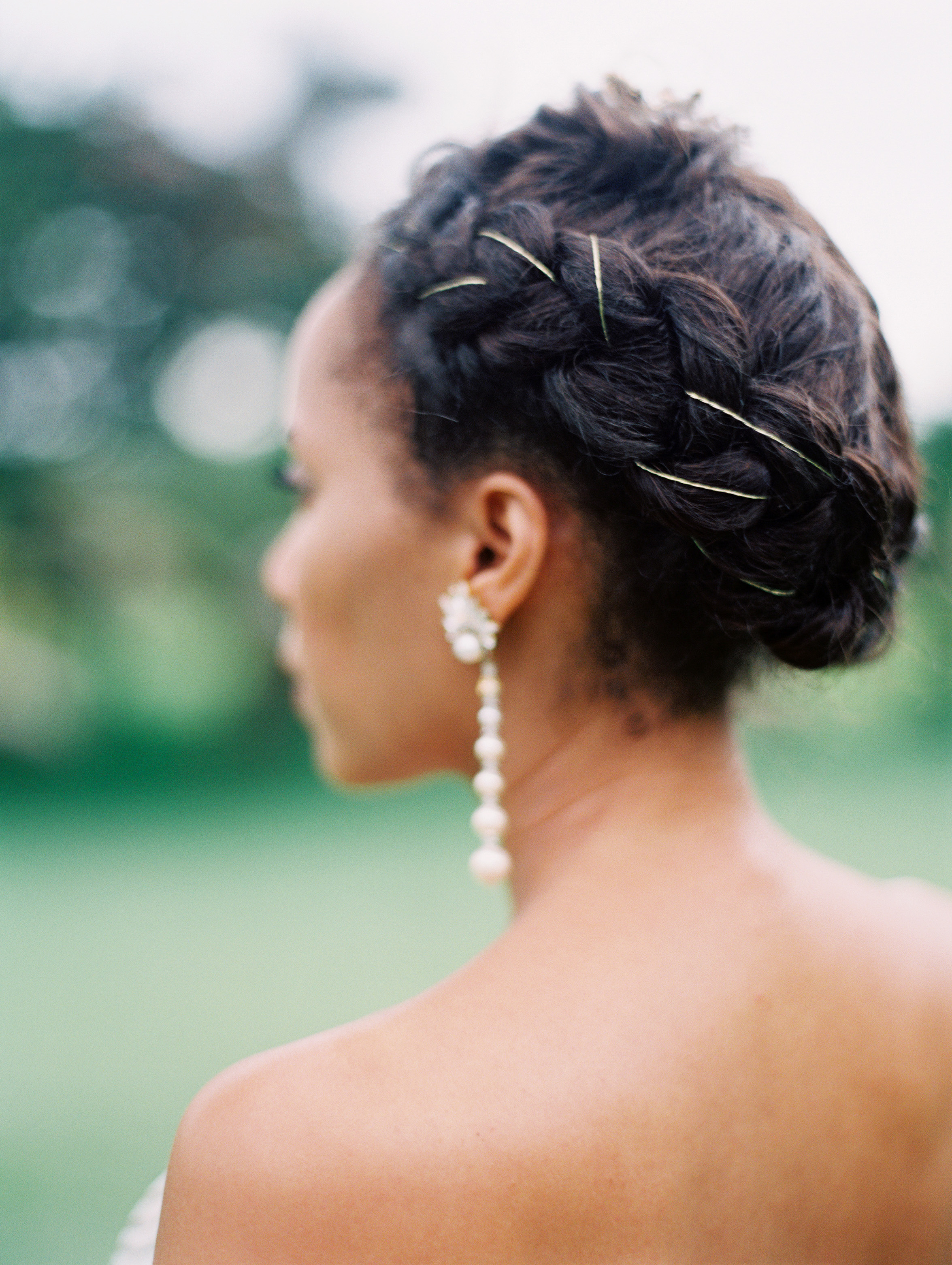 porsha terry wedding jamaica bride hair