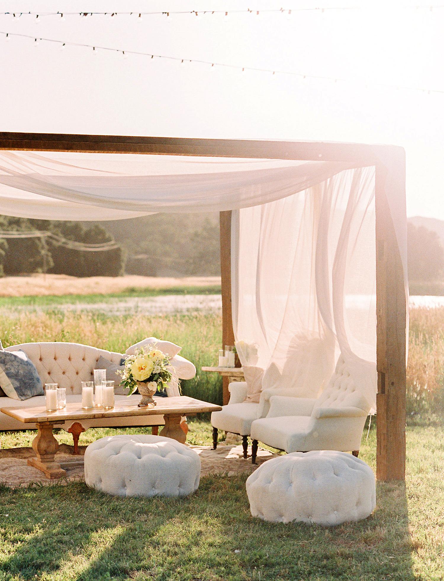 caitlin amit wedding outdoor lounge