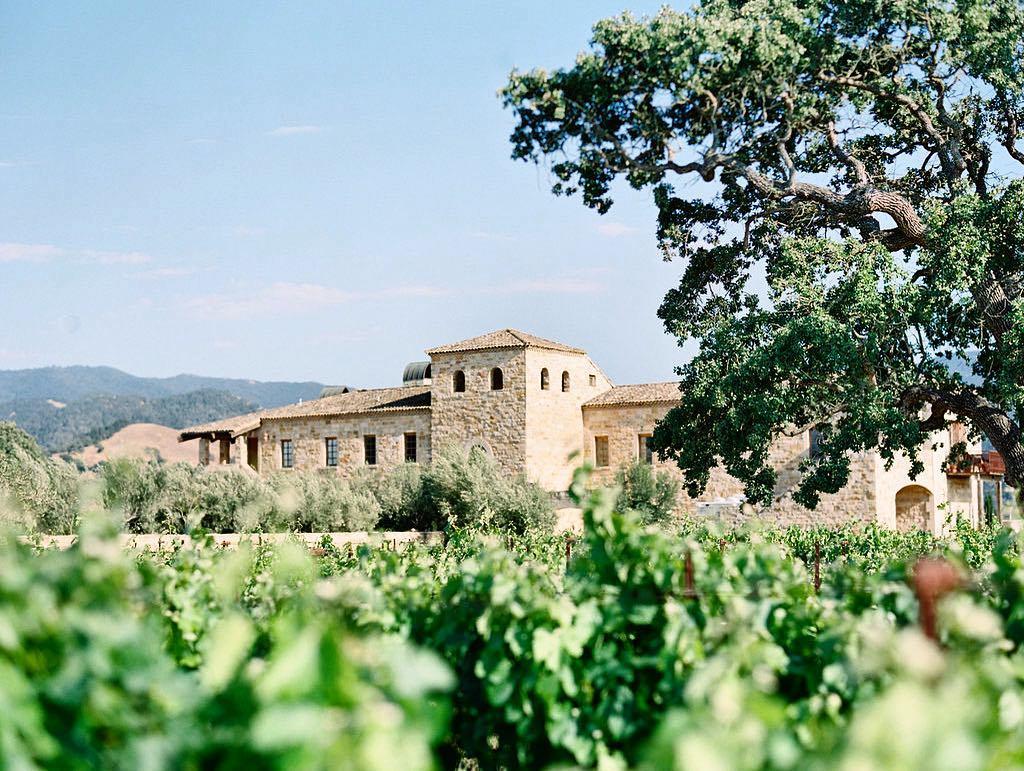 the villa at sunstone winery exterior