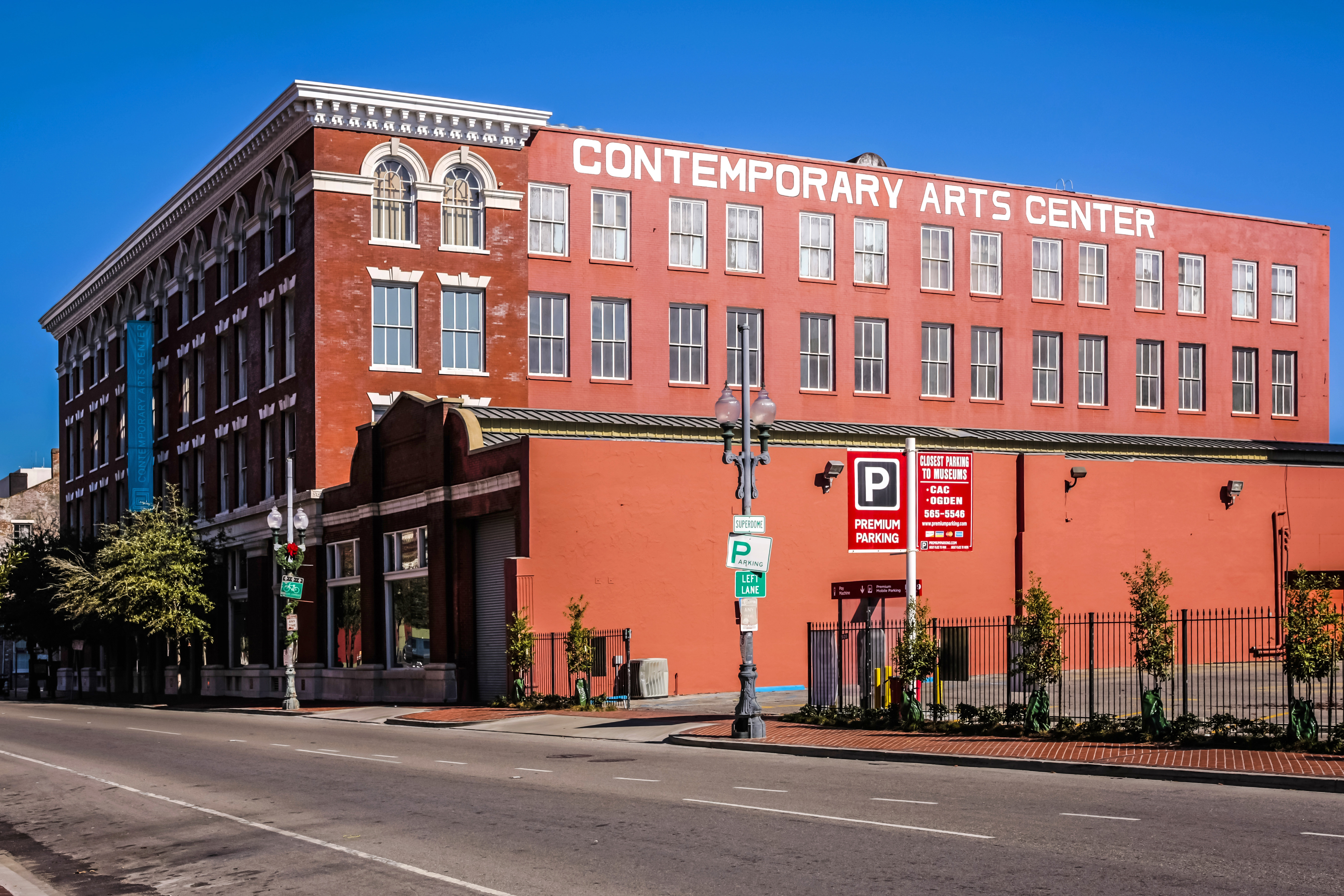 contemporary arts center new orleans exterior