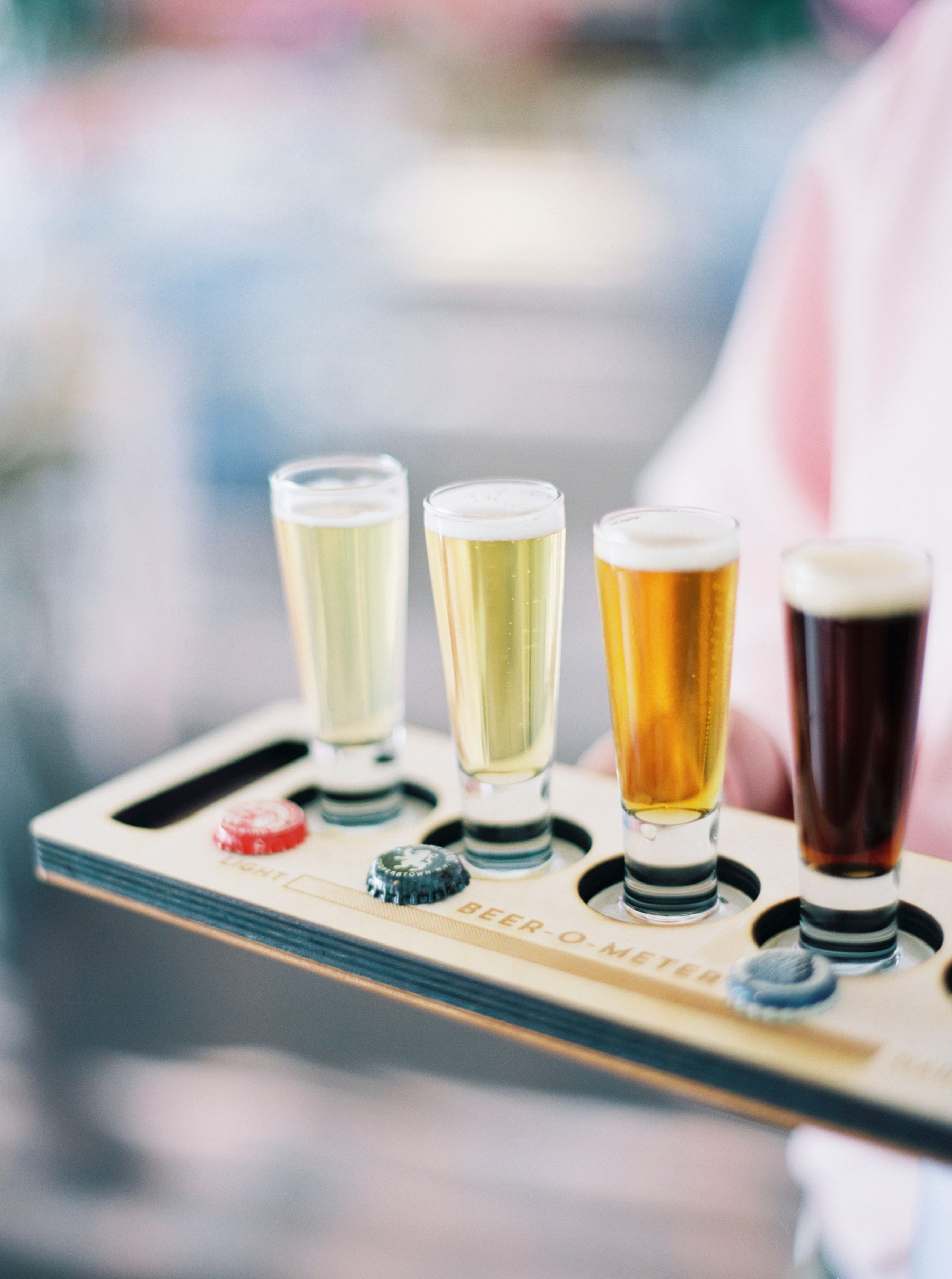 brewery testing tray