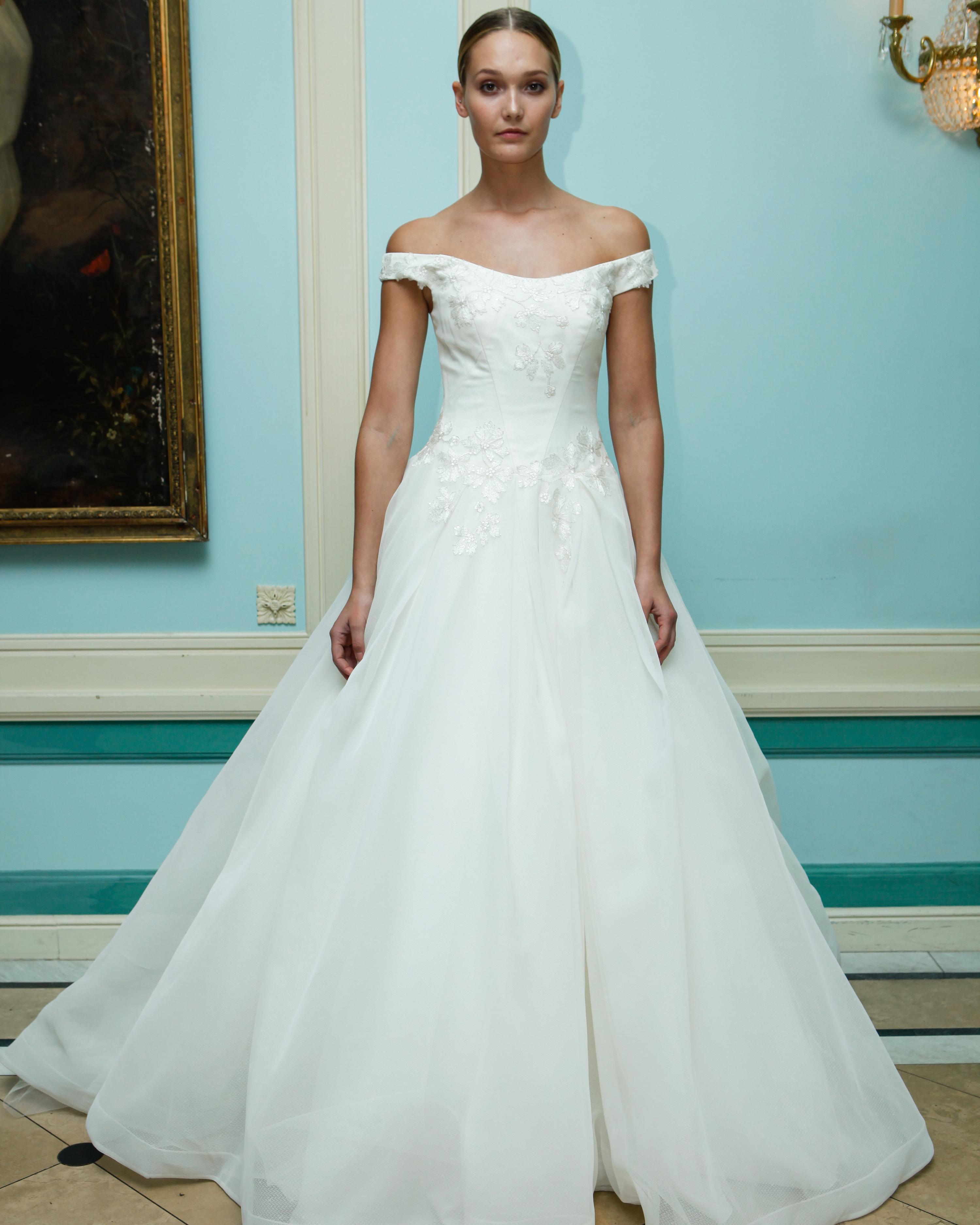 Truly Zac Posen Fall 2016 Wedding Dress Collection Martha