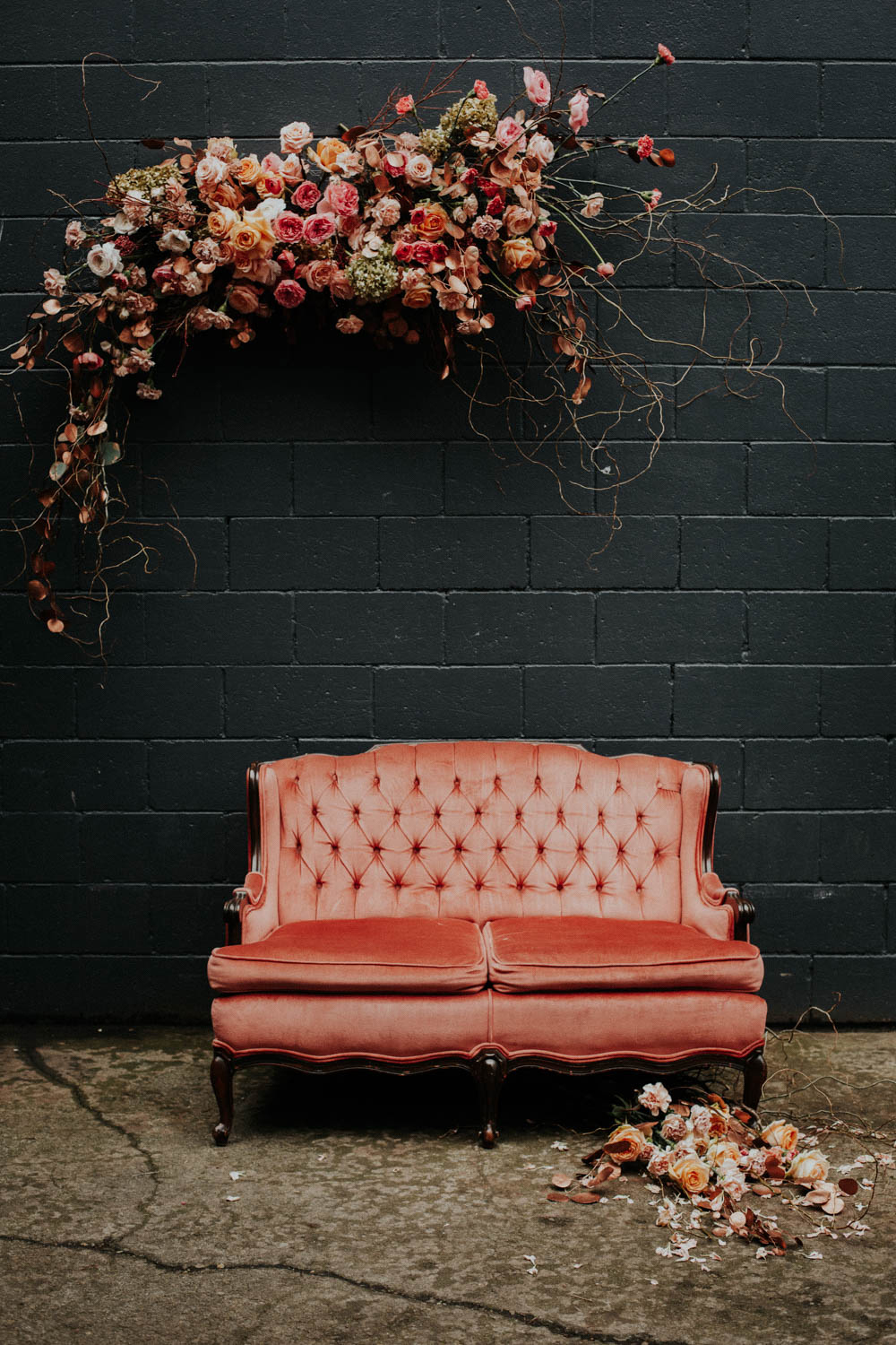 fall wedding color palette victoria black