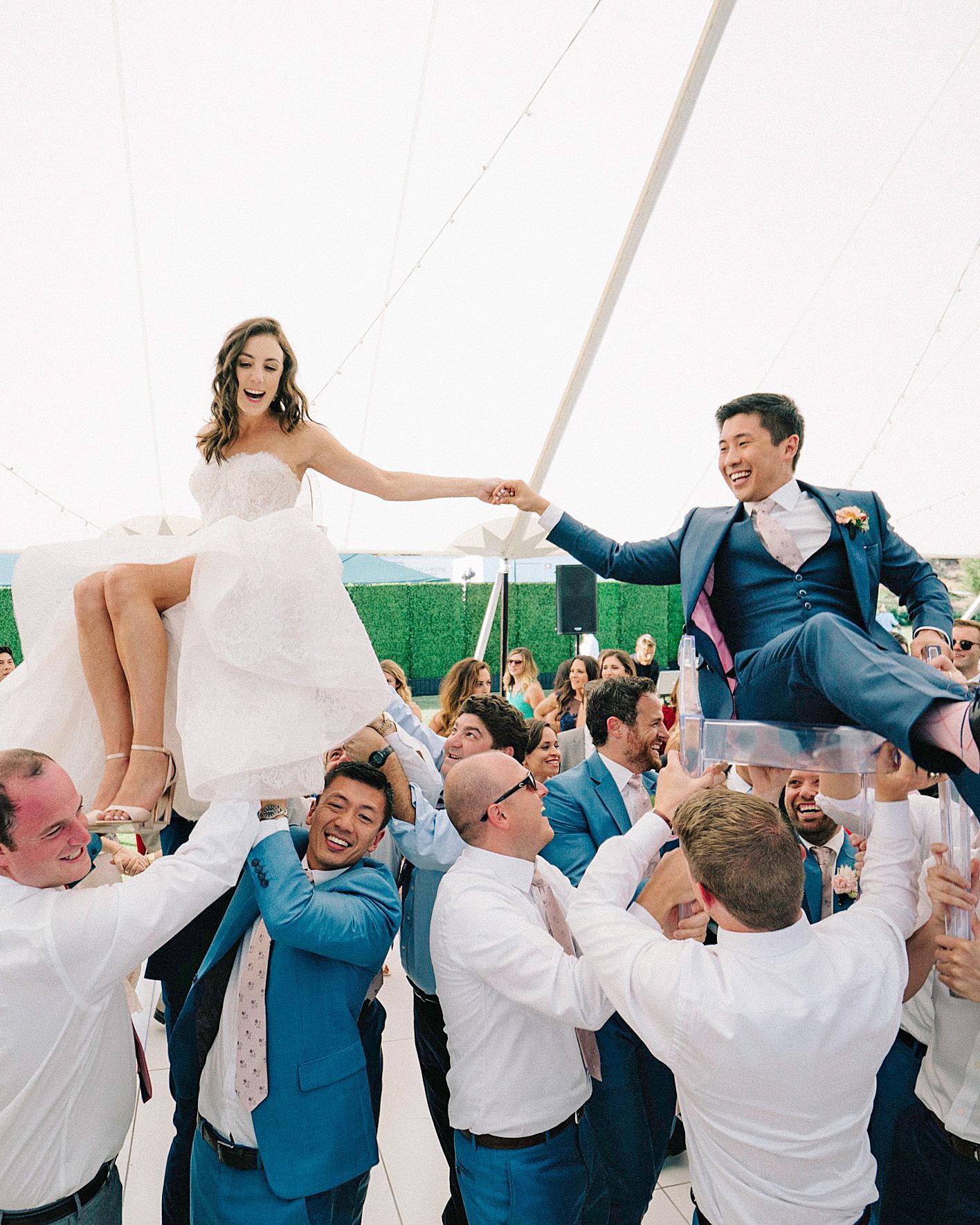 perri phil wedding hora