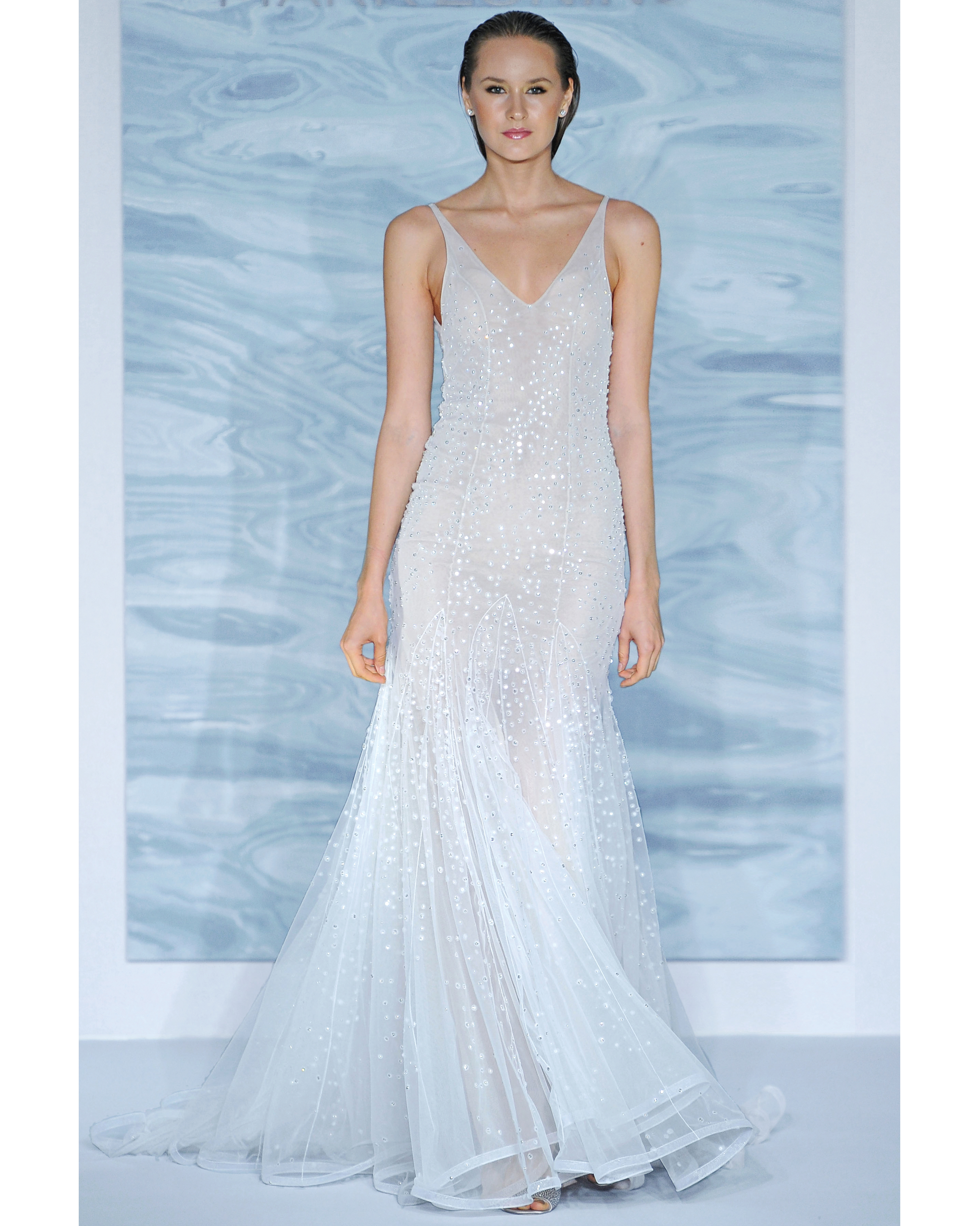 Glam Goddess: Mark Zunino for Kleinfeld Dress
