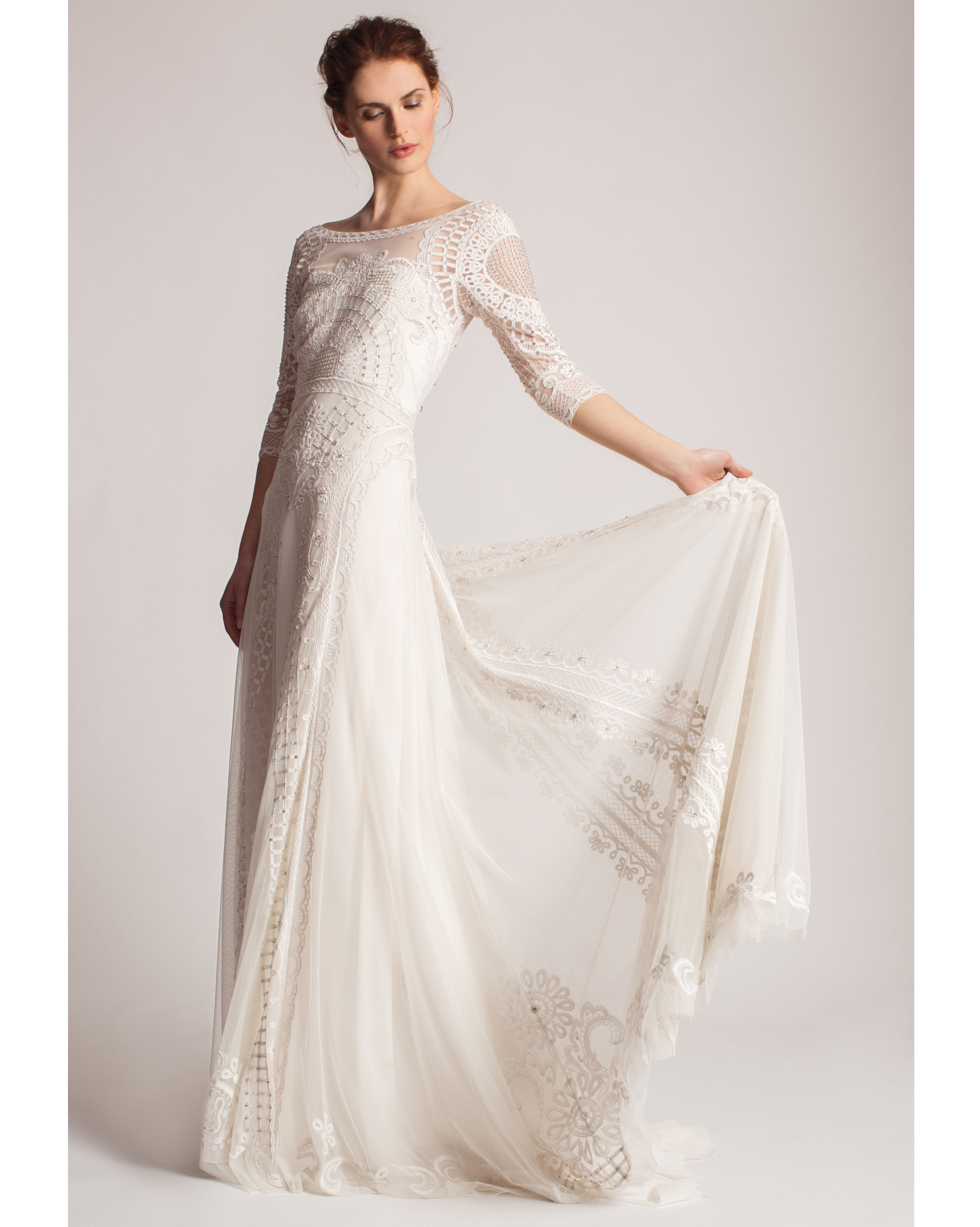 Serious Romantic: Temperley Bridal Dress