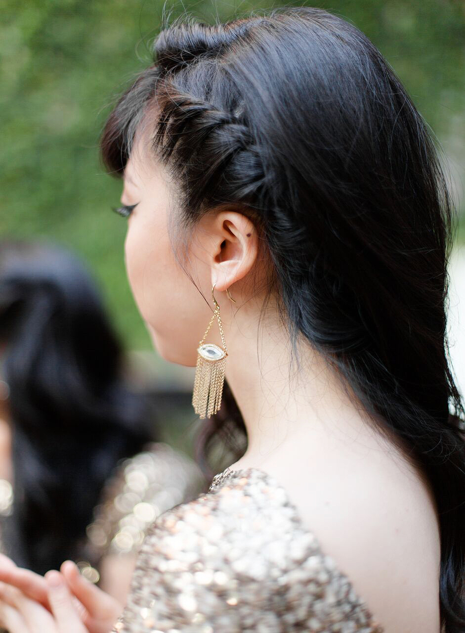bridesmaid braid