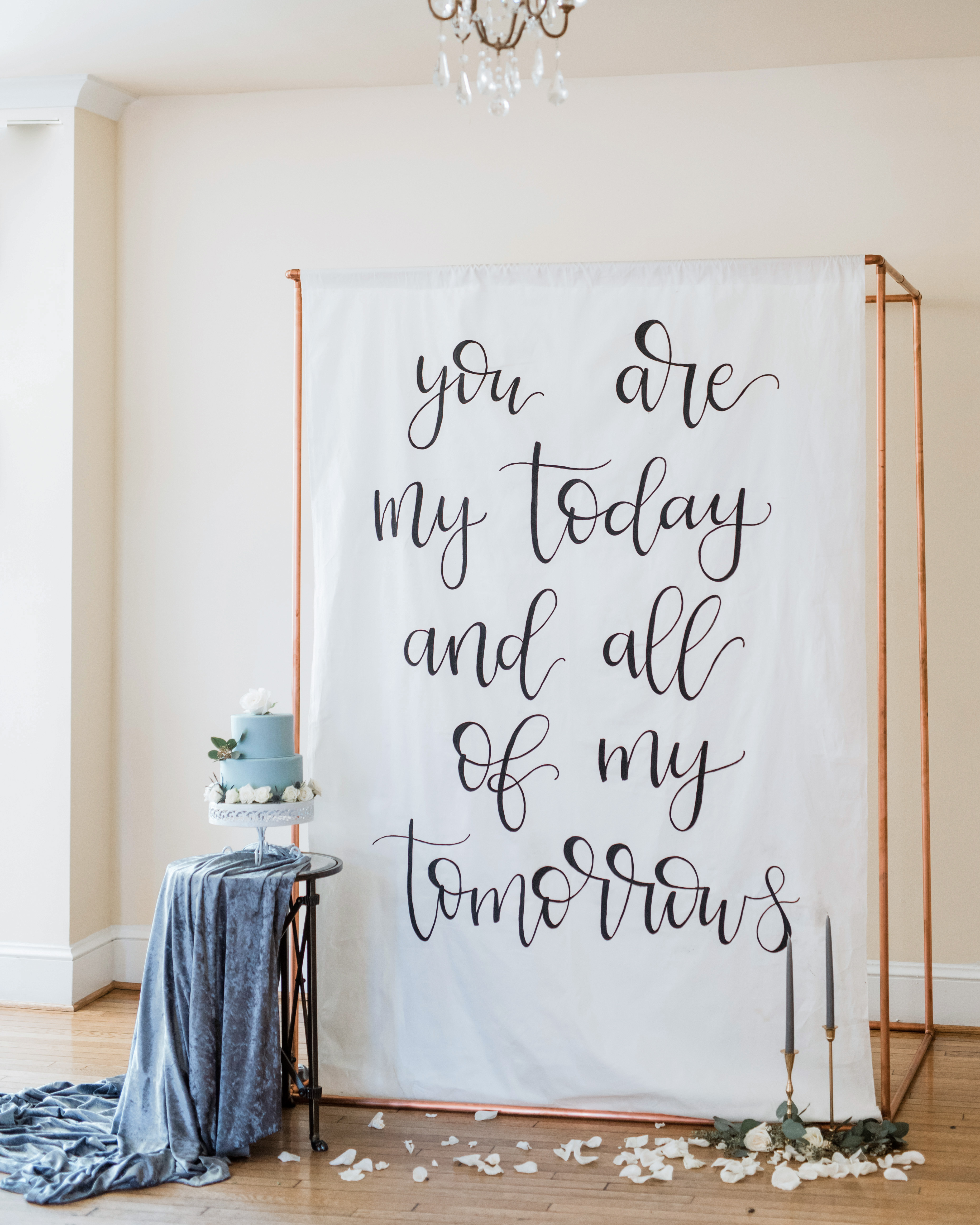 Creative Ways to Display Quotes at Your Wedding | Martha ...