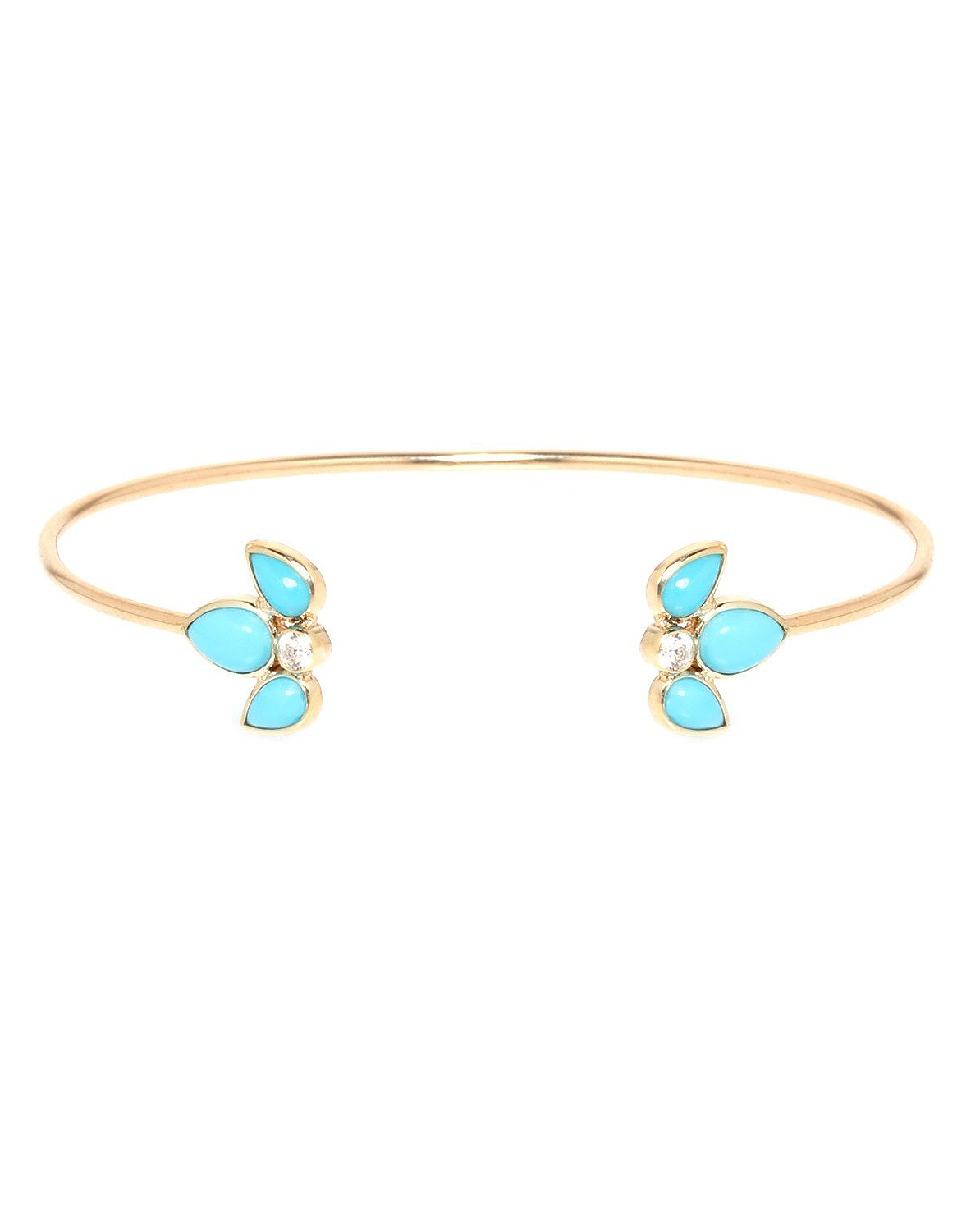 blue and gold bracelet