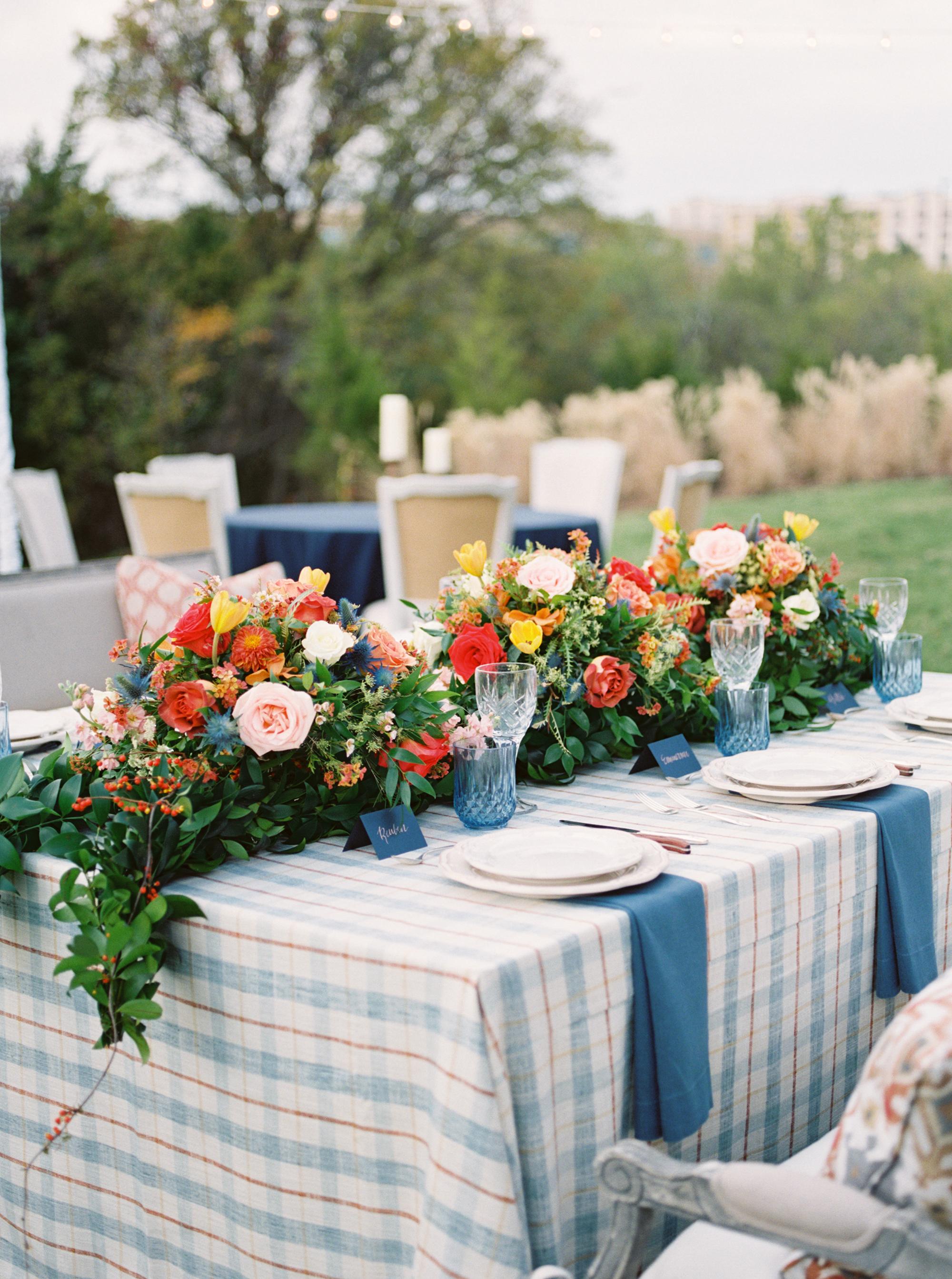 plaid wedding ideas