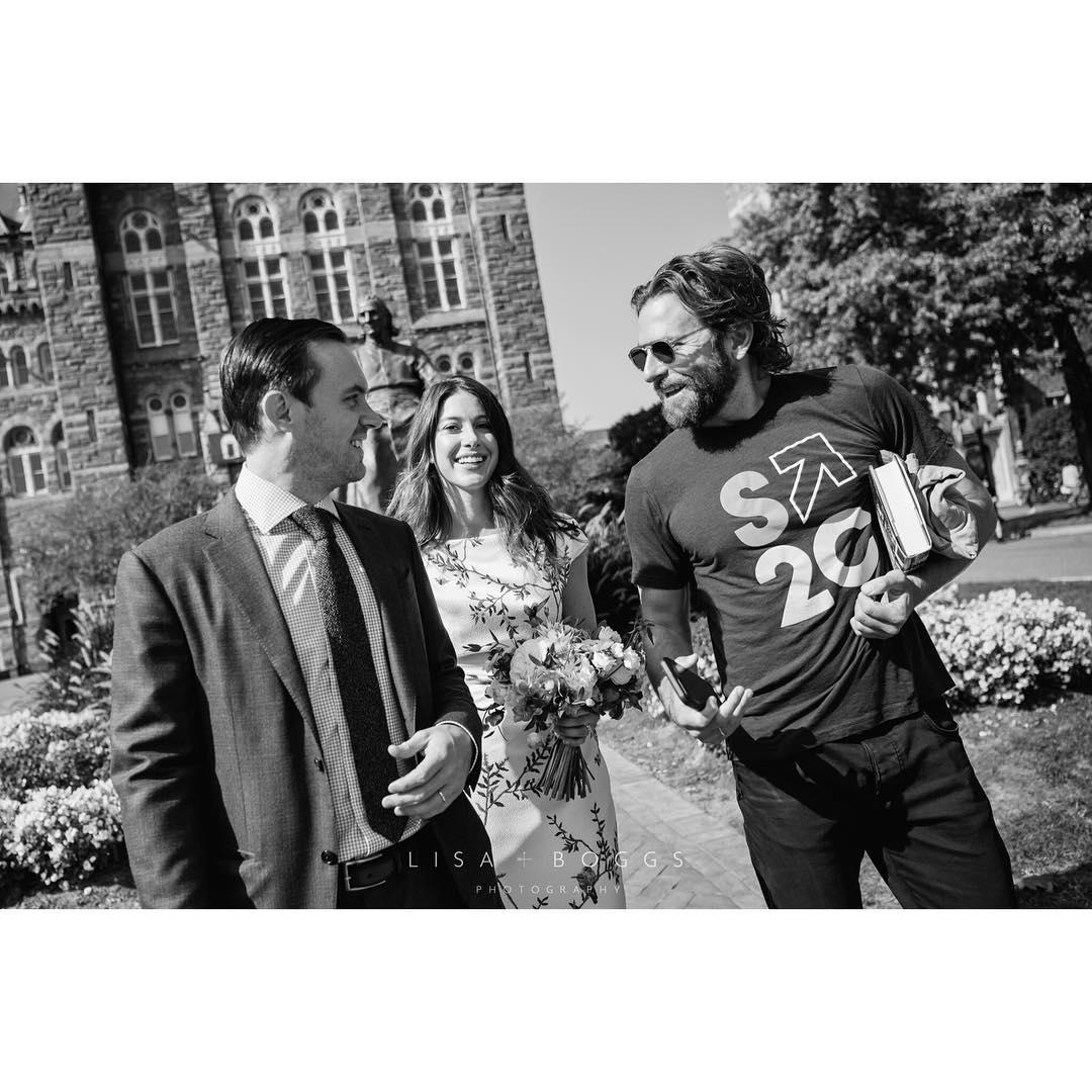 Bradley Cooper crashes wedding