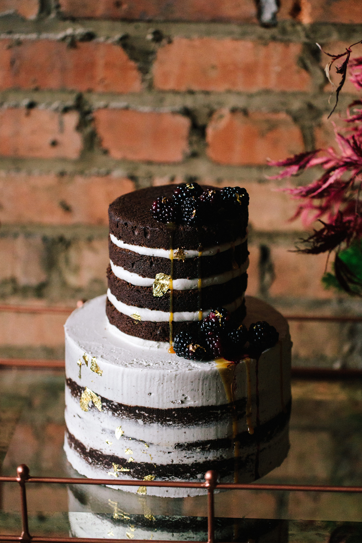 winter wedding cakes jeff brumett visuals