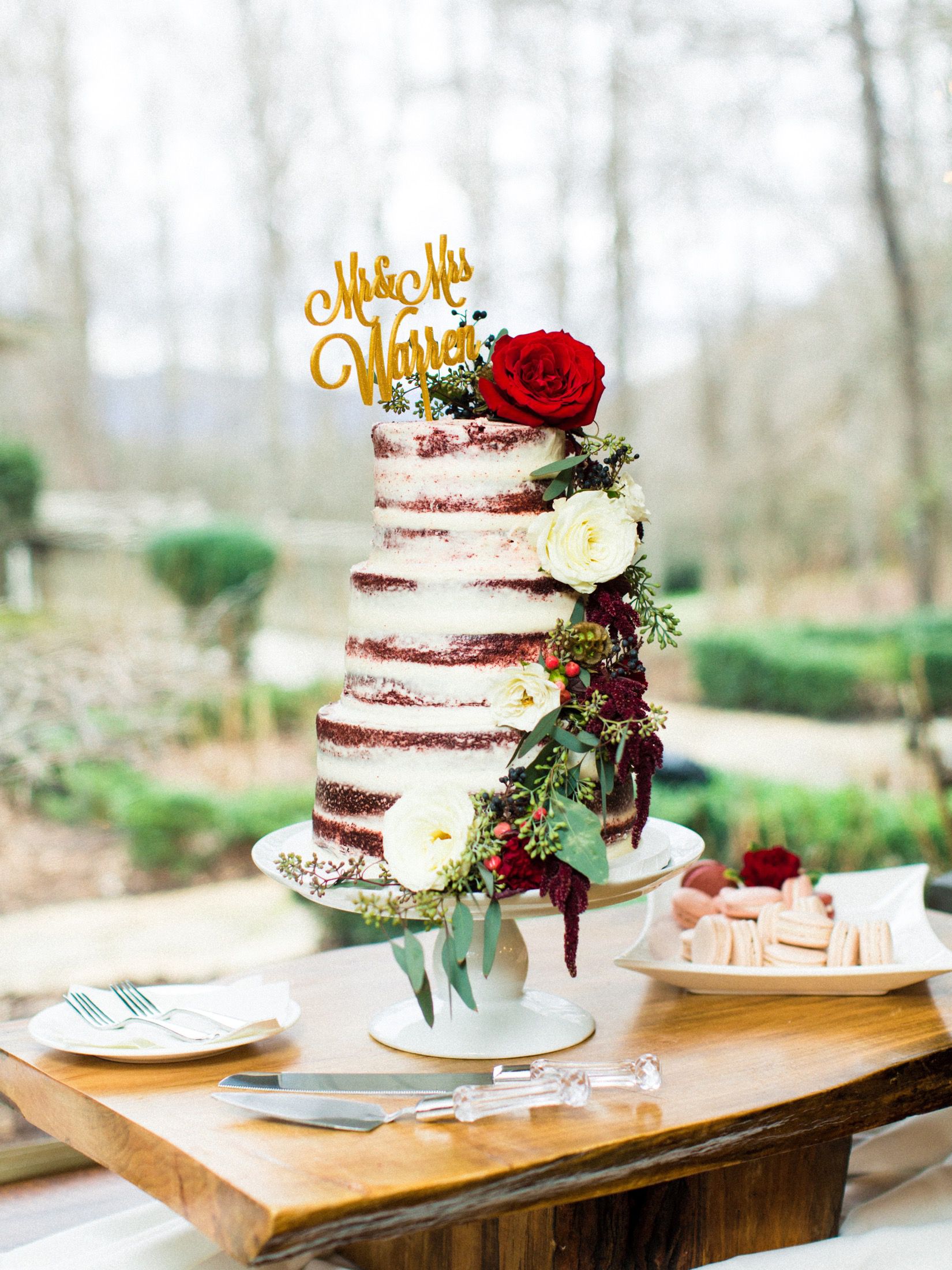 winter wedding cakes perry vaile