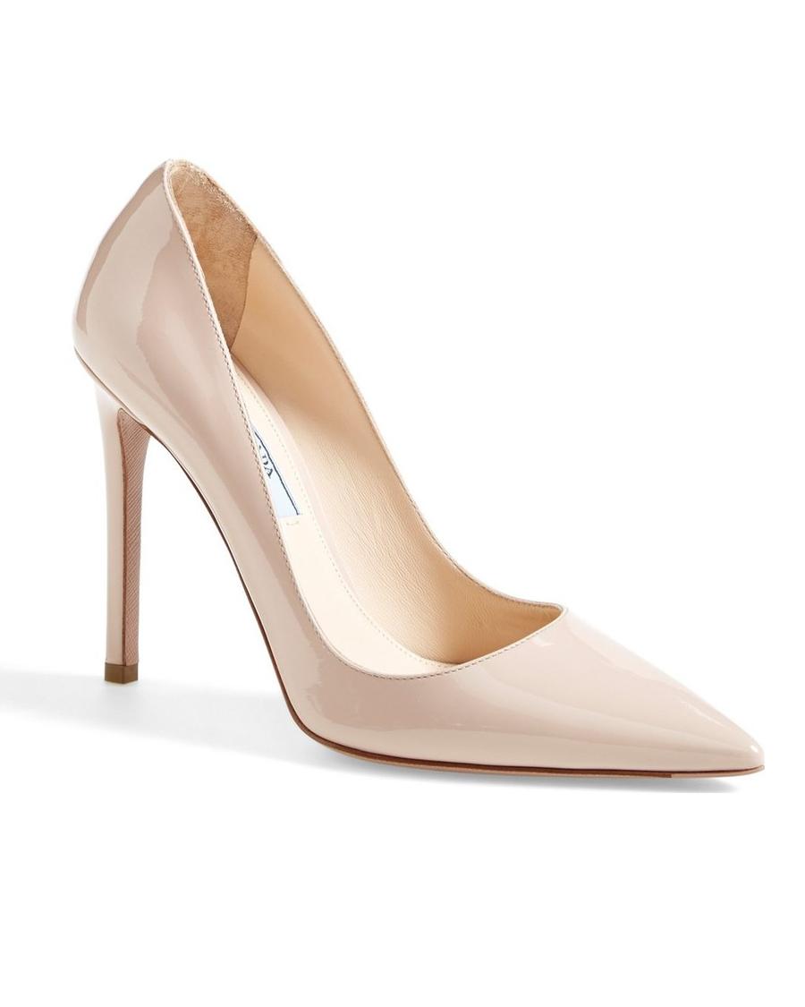 wedding shoes prada