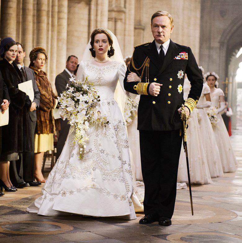tv wedding dresses queen elizabeth the crown