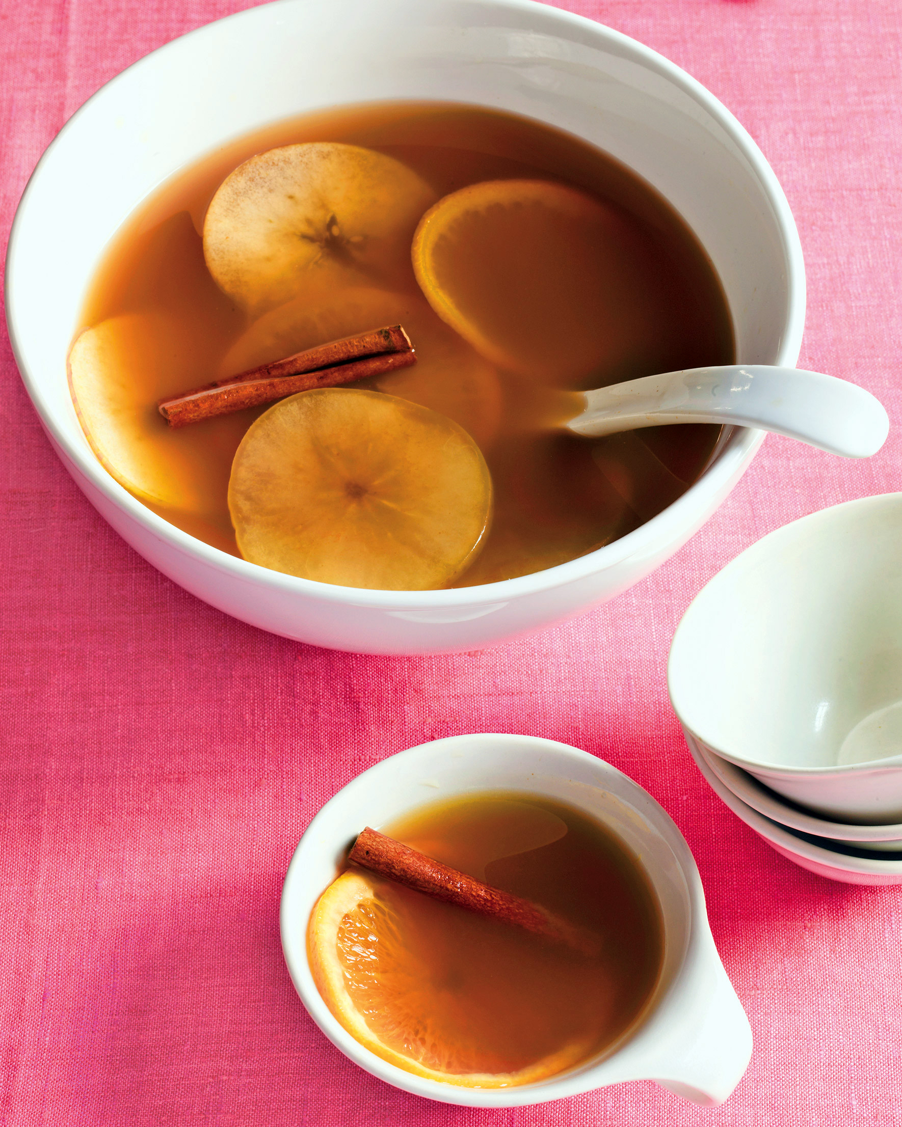 Warm Cider and Rum Punch