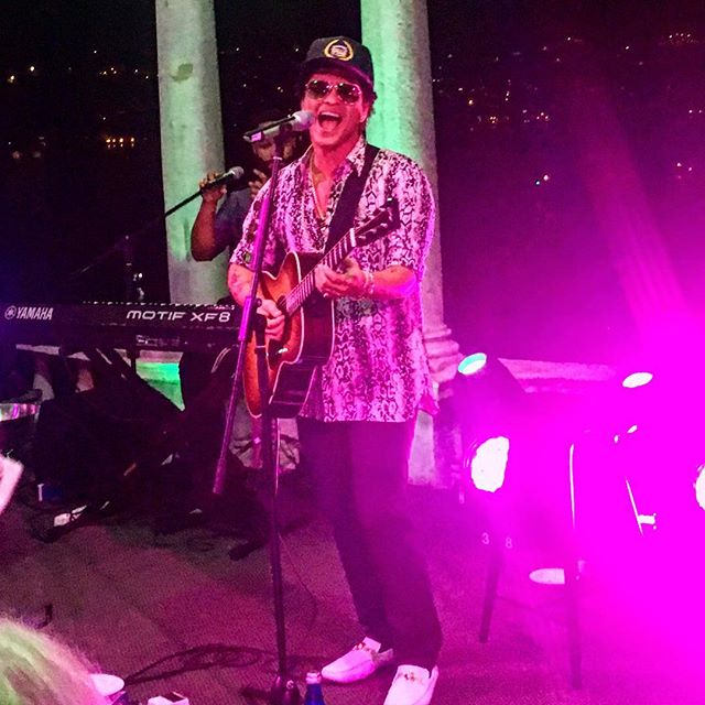 Bruno Mars was a celebrity wedding singer at Spotify CEO Daniel Ek's wedding