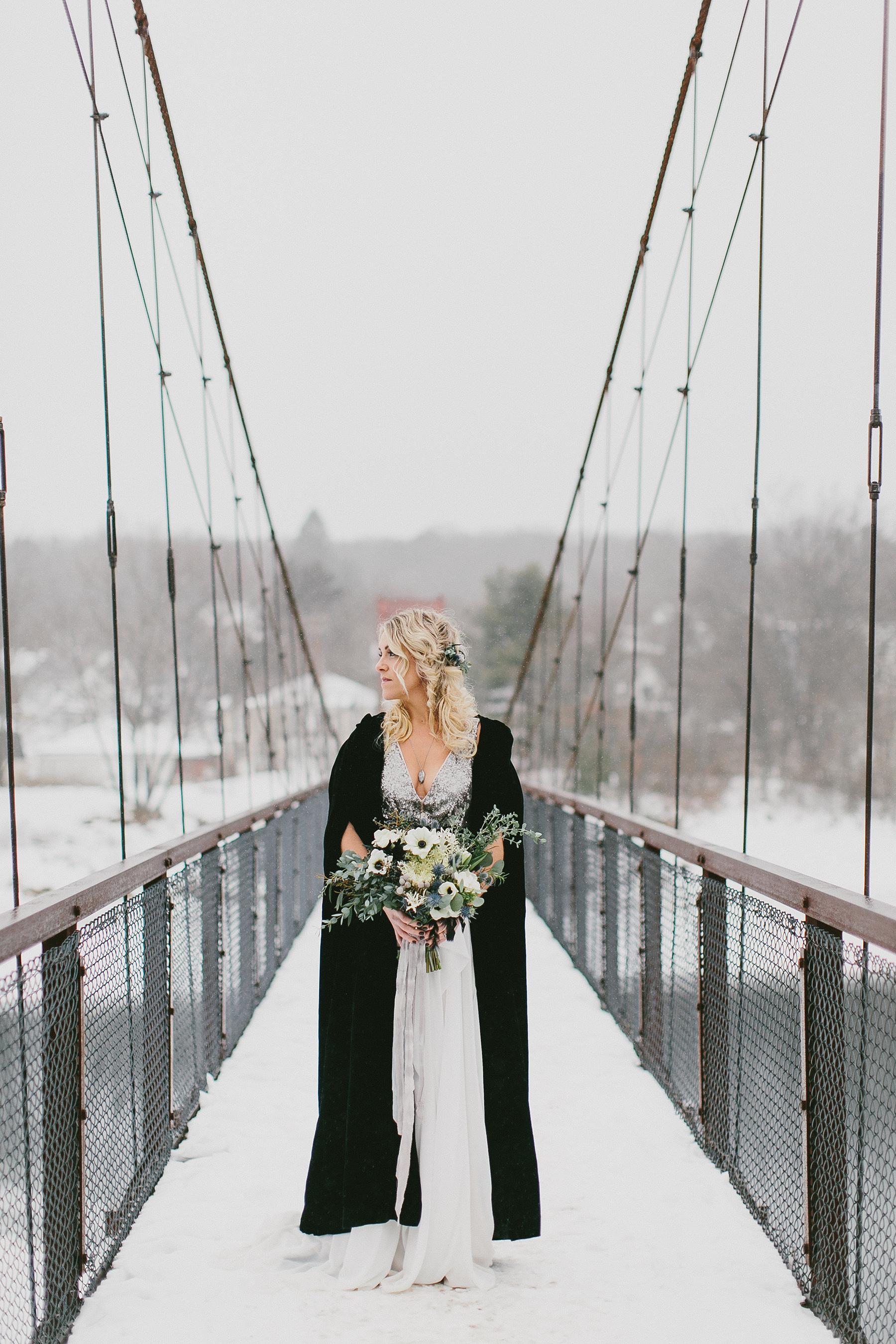 Bride on a Bridge