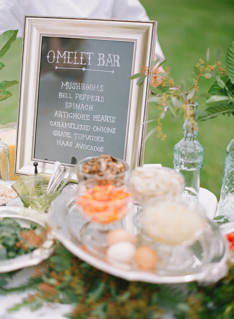 wedding food bars jill thomas