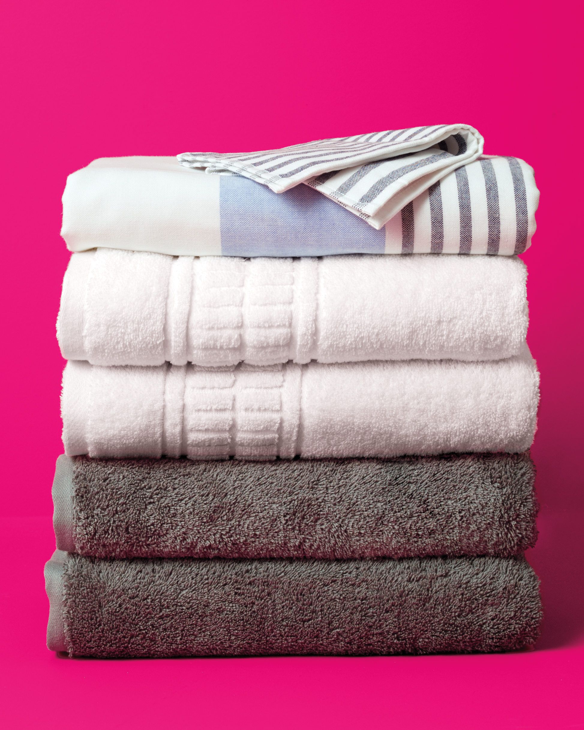 B is for Bath Towels