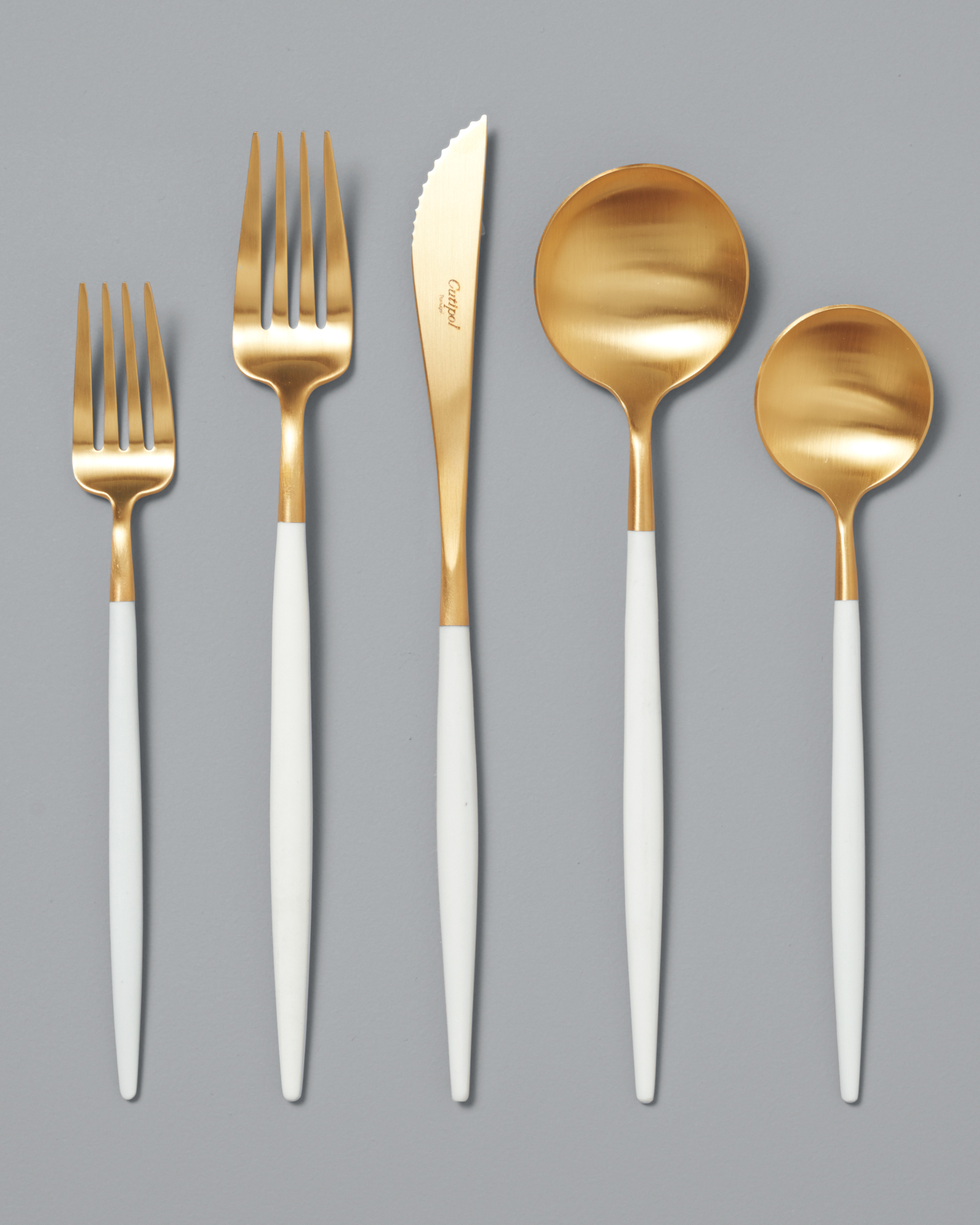F is for Flatware