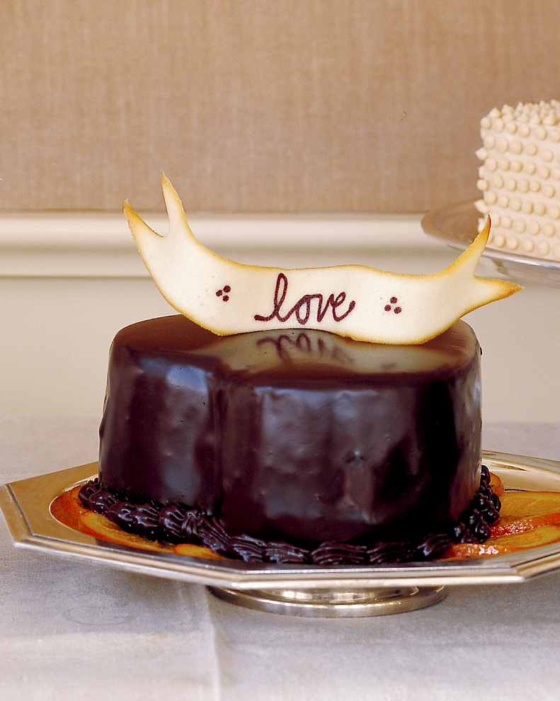 Heart-Shaped Diablo Cake