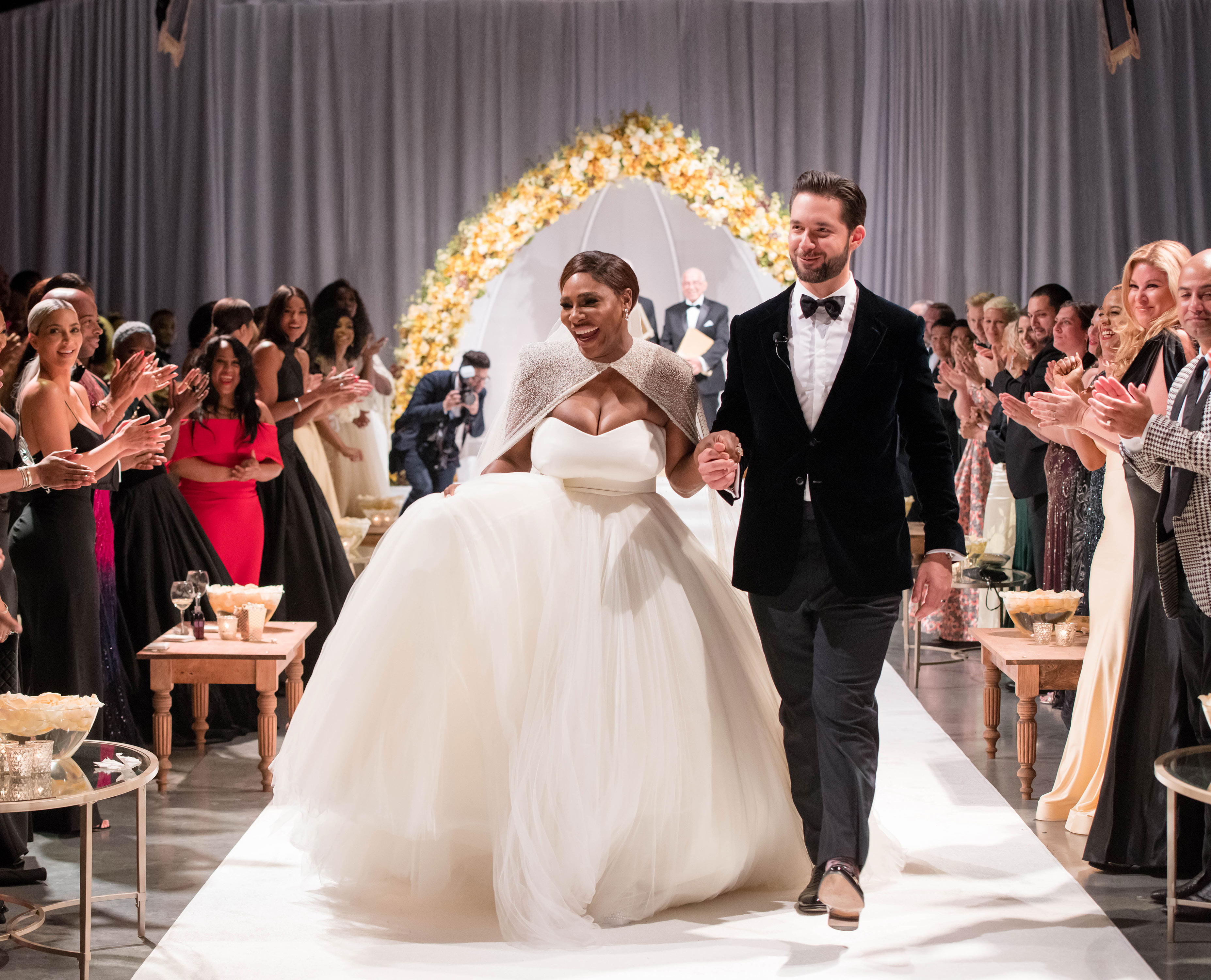 Serena Williams and Alexis Ohanian Wedding Ceremony