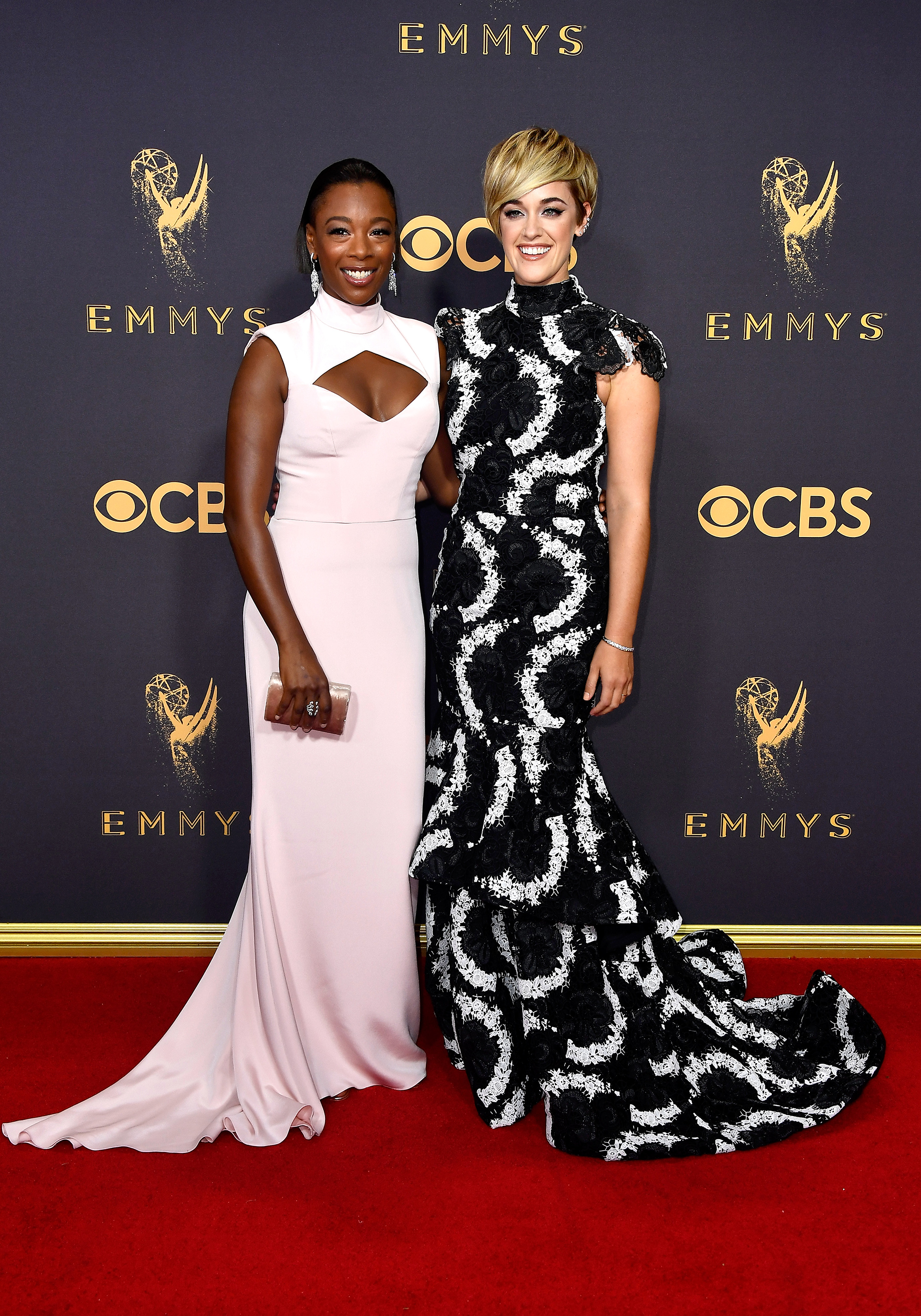 Samira Wiley and Lauren Morelli Emmys 2017